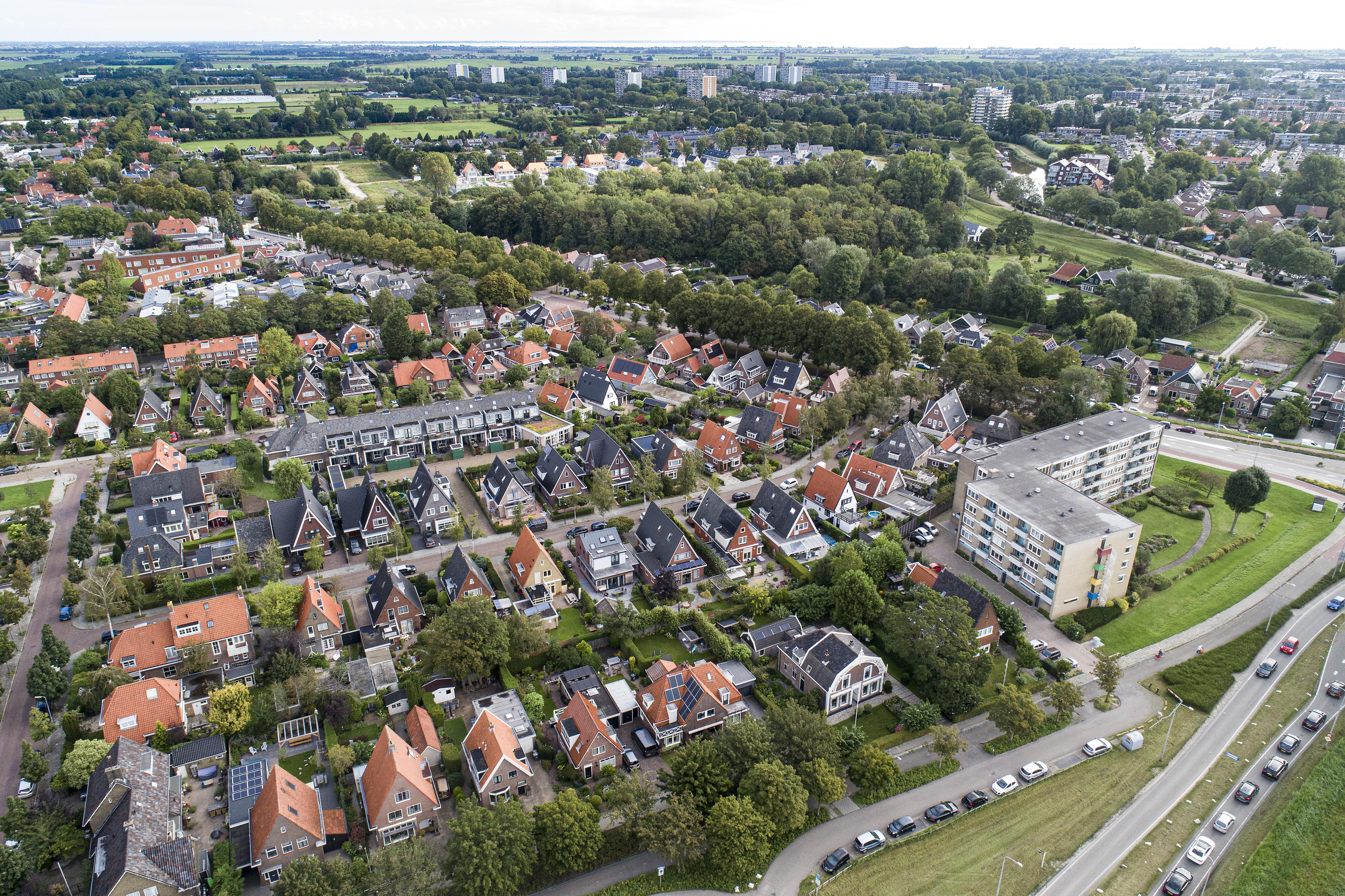 Villa Zuidwijk: de enige flat van Zuidoostbeemster. Andere panden maken eerder aanspraak op de titel villa