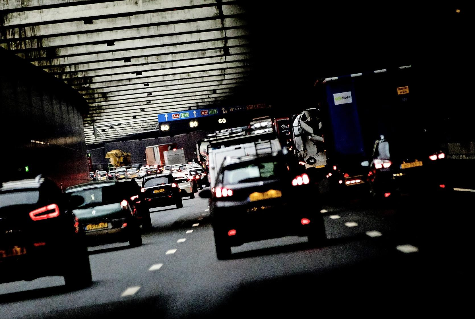 De spitsfile is weg bij Leiden, Amsterdam en Utrecht, Haarlem is de drukste stad