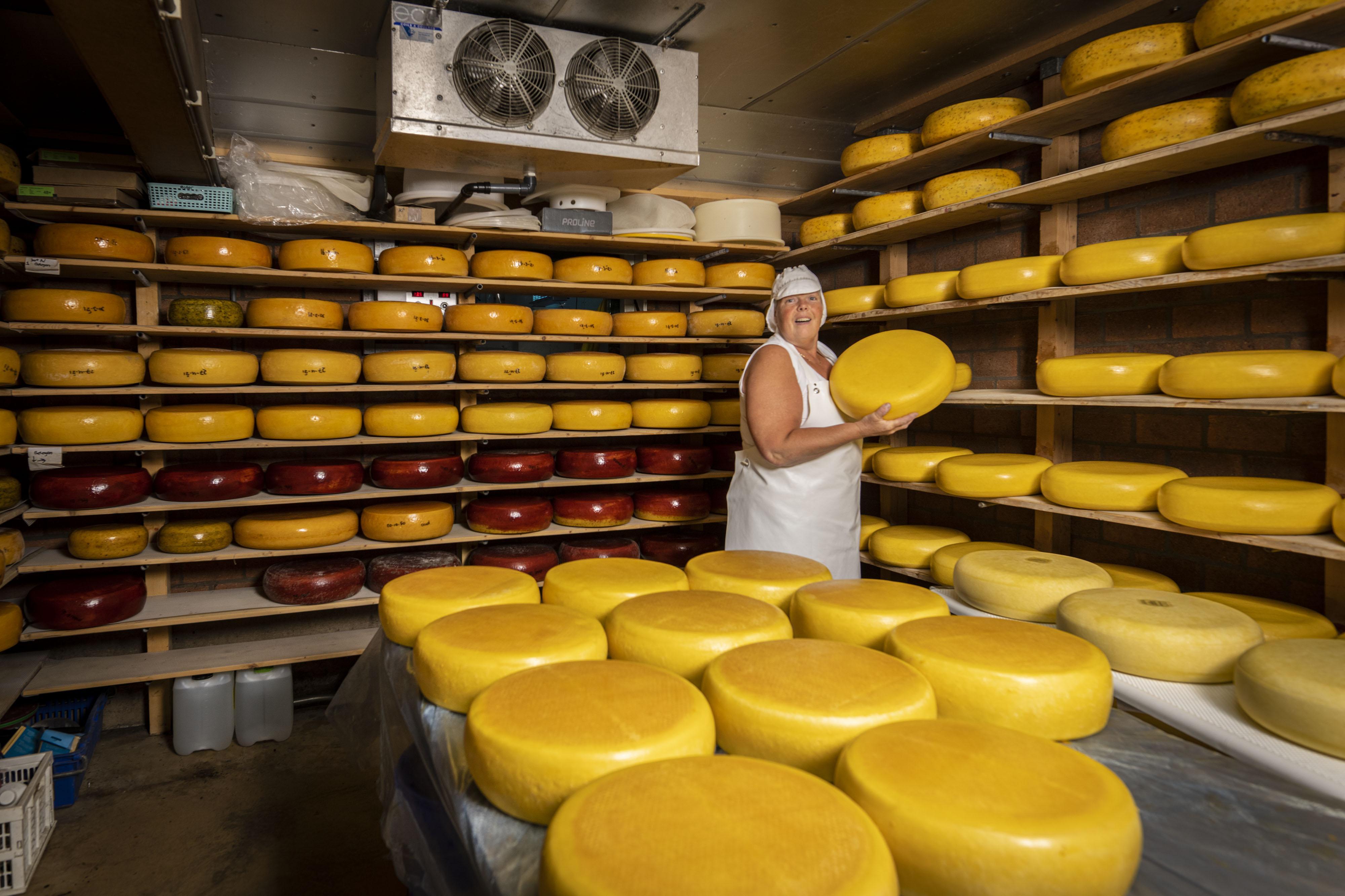 Ina Versteegen, boerin in kaasmaakster: 'Kaas op de pof meegeven? Dat kan hier gewoon'