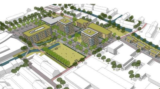 Westerkoog krijgt een levendig hart met appartementen, buurthuis en groen