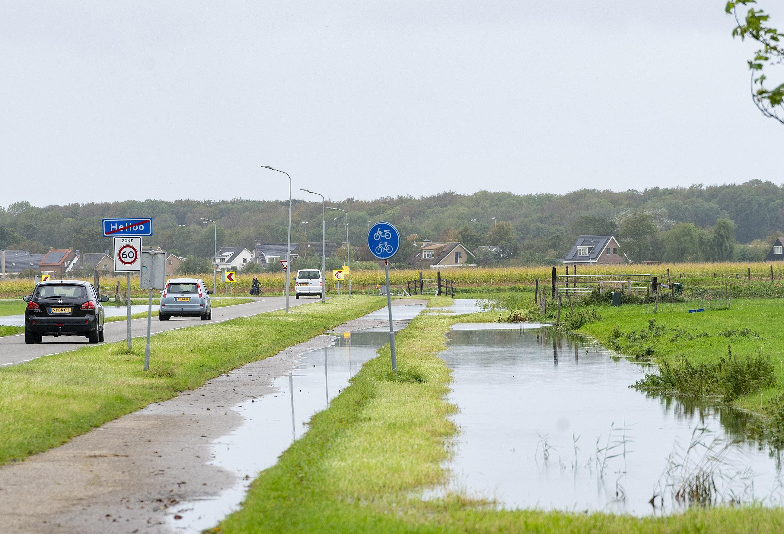 Alarmfase 1 bij waterschap in Noord-Holland door extreme regenbuien en toename wateroverlast
