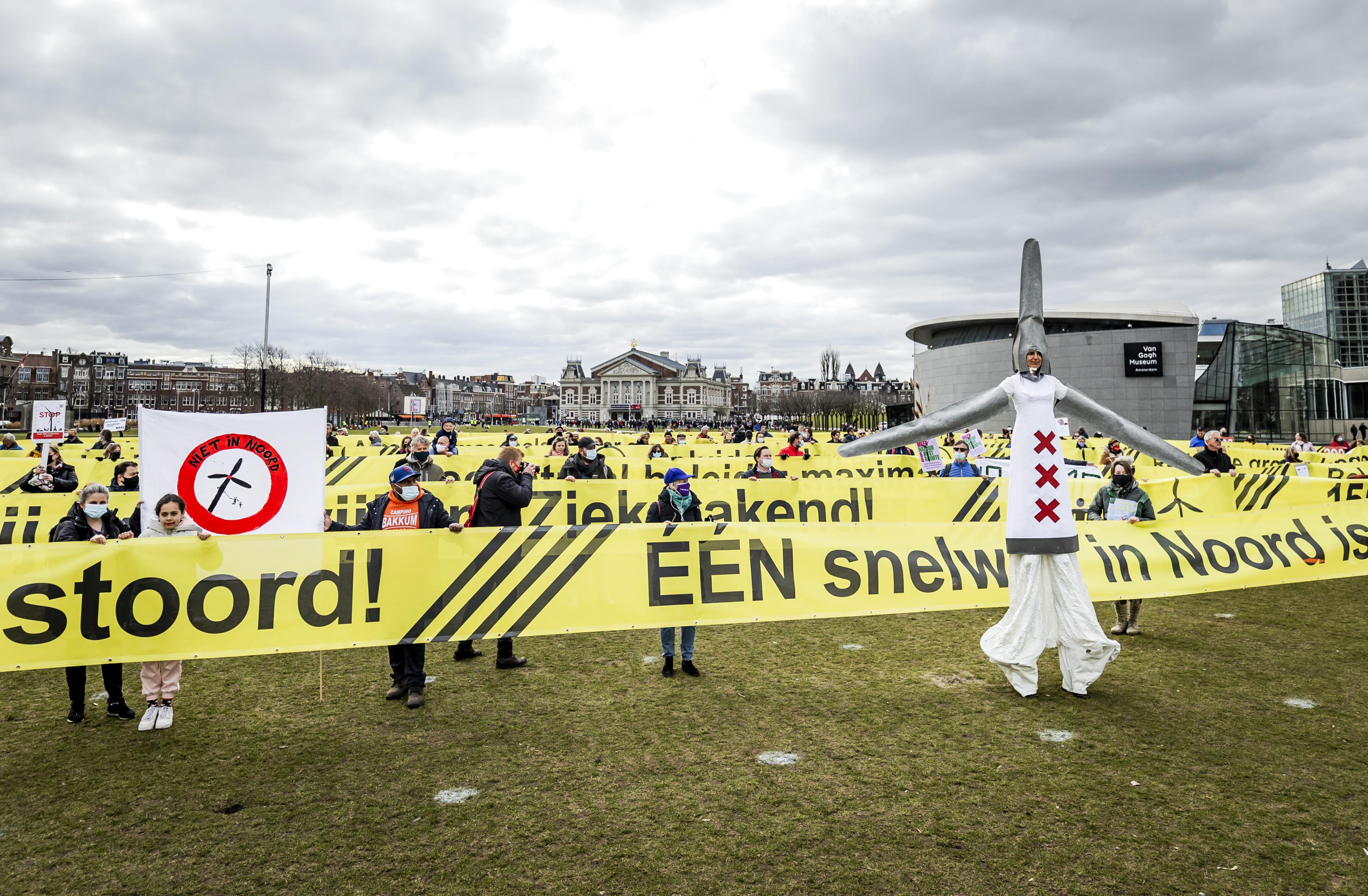 Zorgen over loslaten 600-metergrens voor windturbines in Noord-Holland