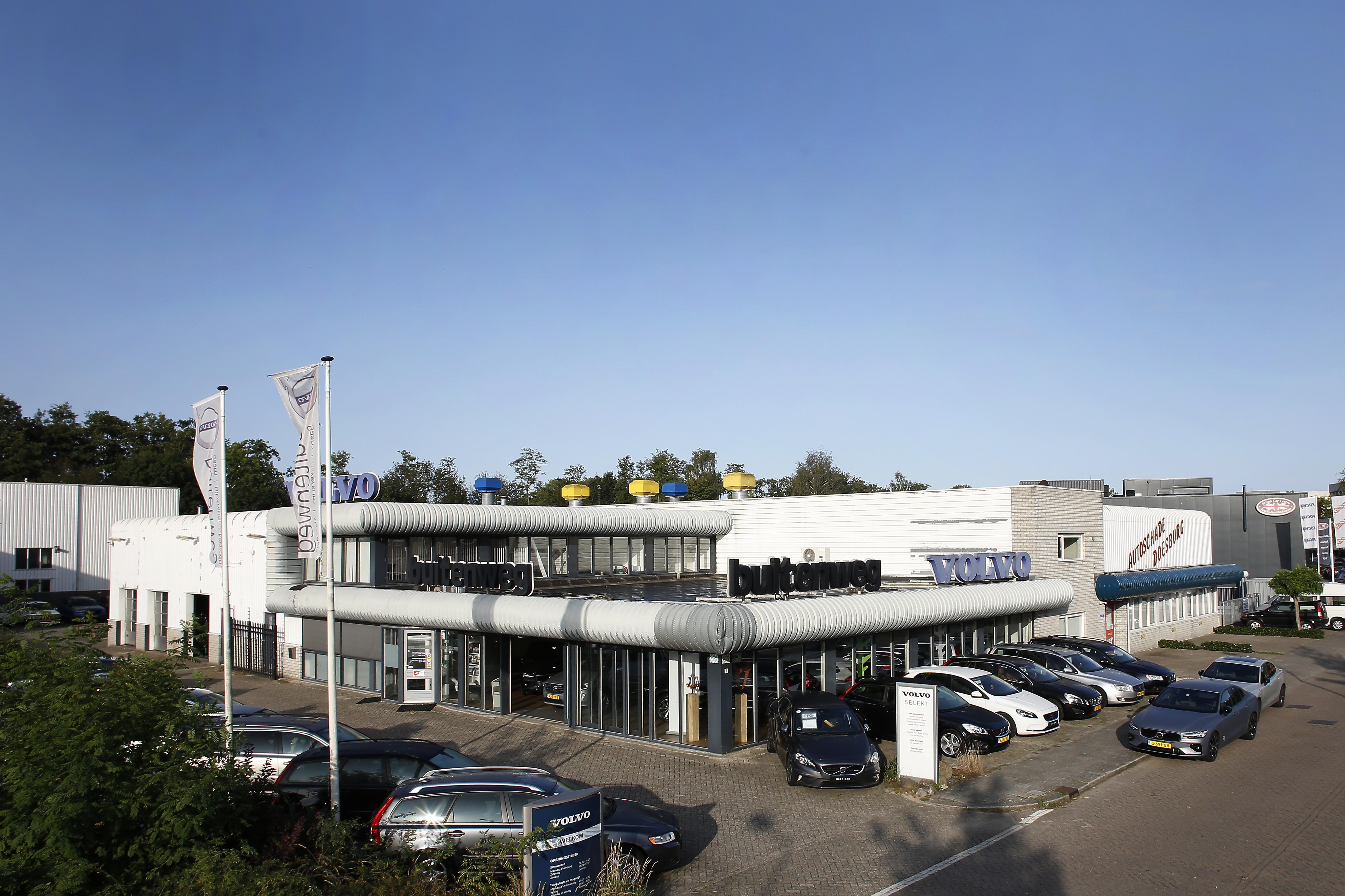 Met Volvo Buitenweg verdwijnt ook Volvo zelf uit Baarn; Een historisch moment, want Baarn was de eerste plaats in Nederland met een echte Volvo-dealer