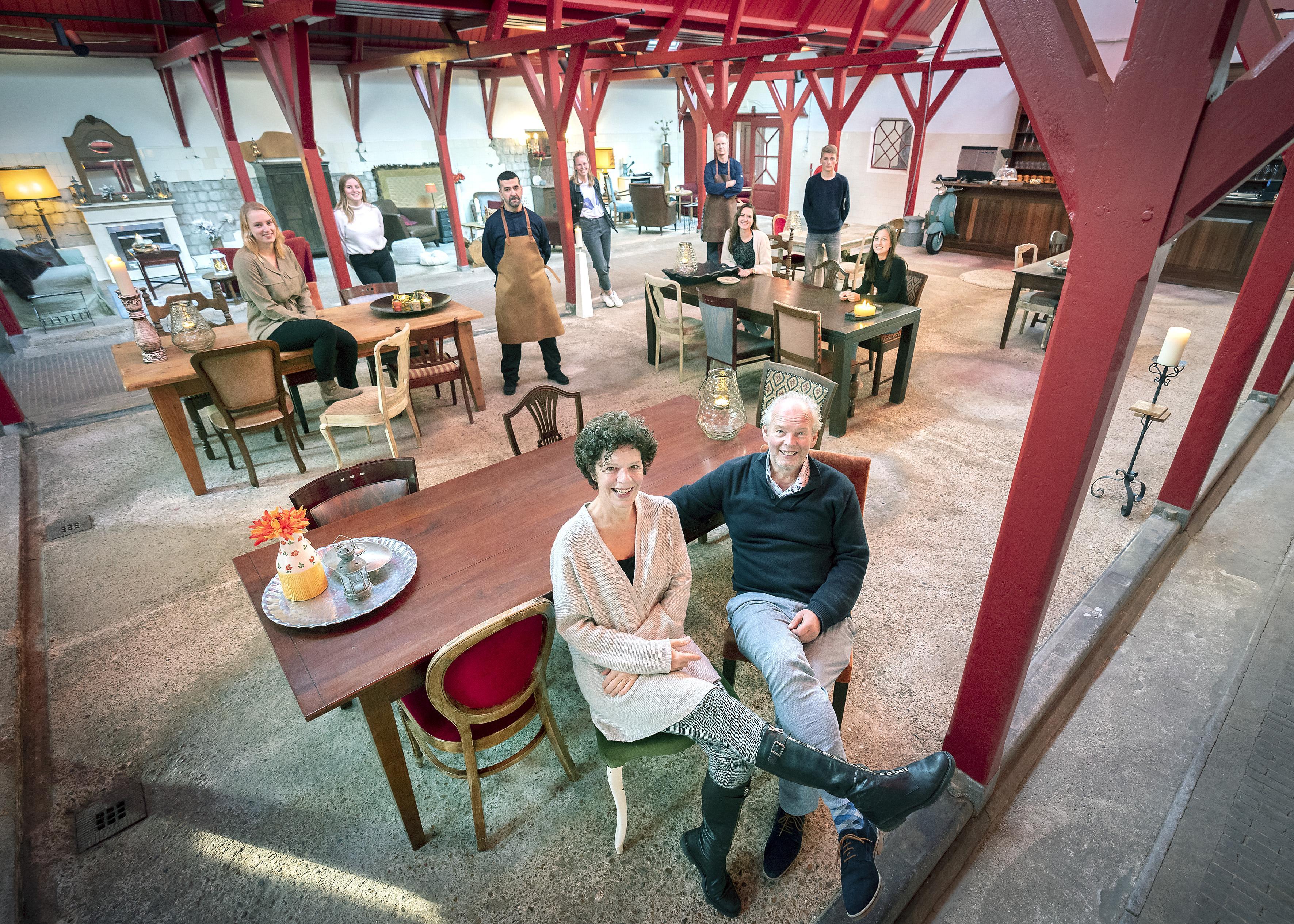 Orangerie Elswout in Overveen opent tijdelijke horecagelegenheid in oude stalboerderij: 'We doen het uit pure nood'