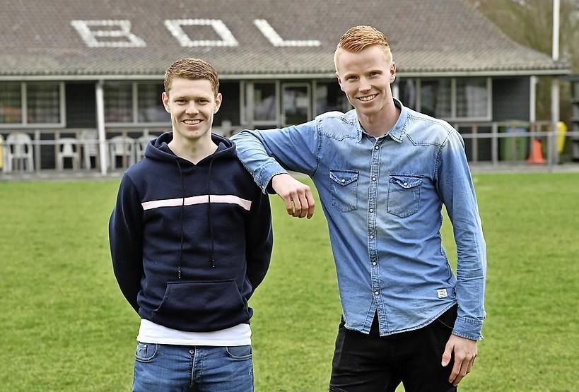 Koen Tros bij Koninklijke HFC weer herenigd met buurman Sietse Brandsma: 'We kunnen elkaar op het veld makkelijk vinden'