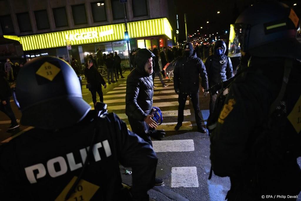 Arrestaties bij anti-lockdownprotest in Denemarken