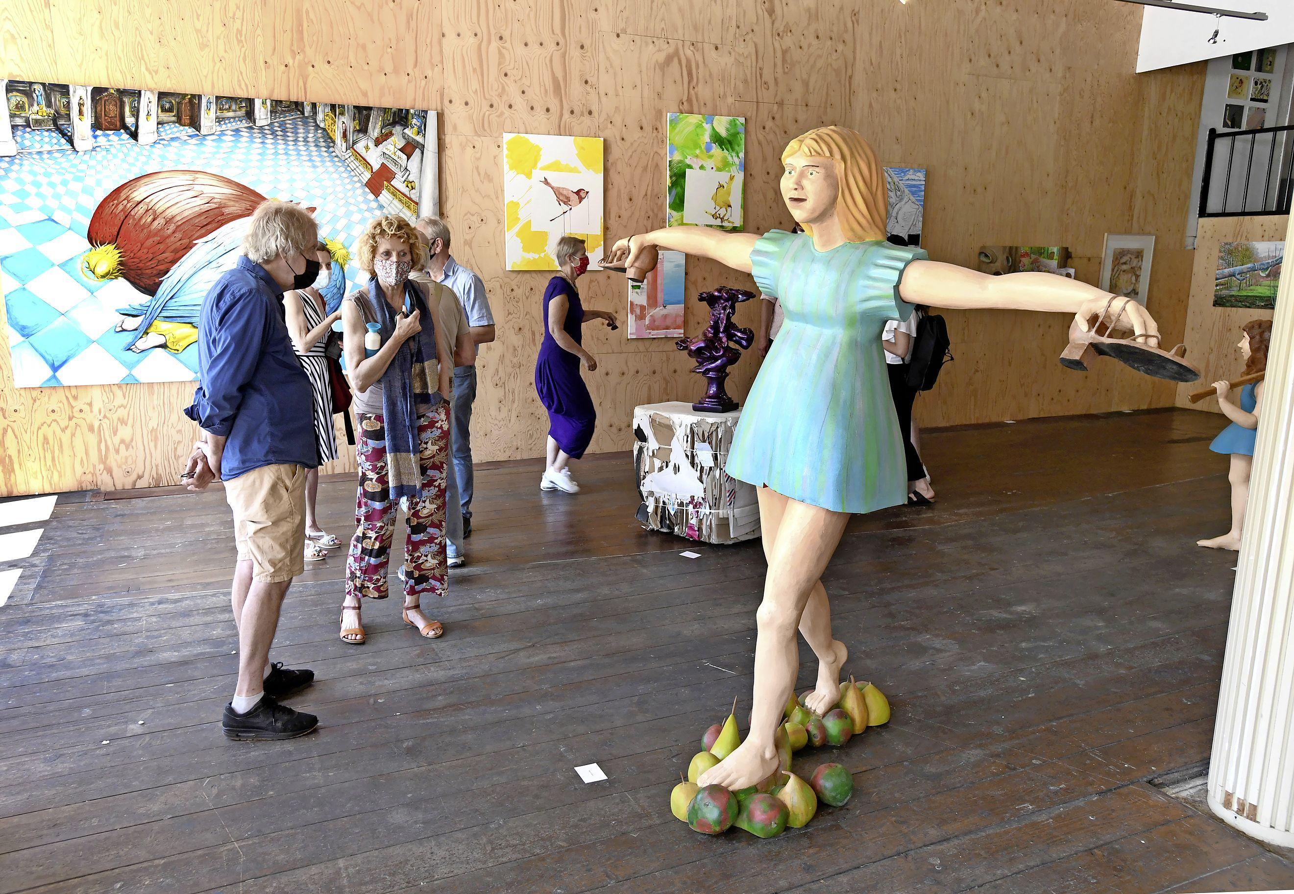 Opening Kunsthal 45: 'Kunst is belangrijk voor een stad als Den Helder'