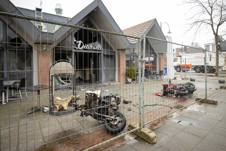 Ravage in uitgebrande Kwalitaria Délifrance in Soest lijkt enorm, maar eigenaresse Sandra van Aken weet het fijne er ook nog niet van; 'We mogen ook nog niet naar binnen'