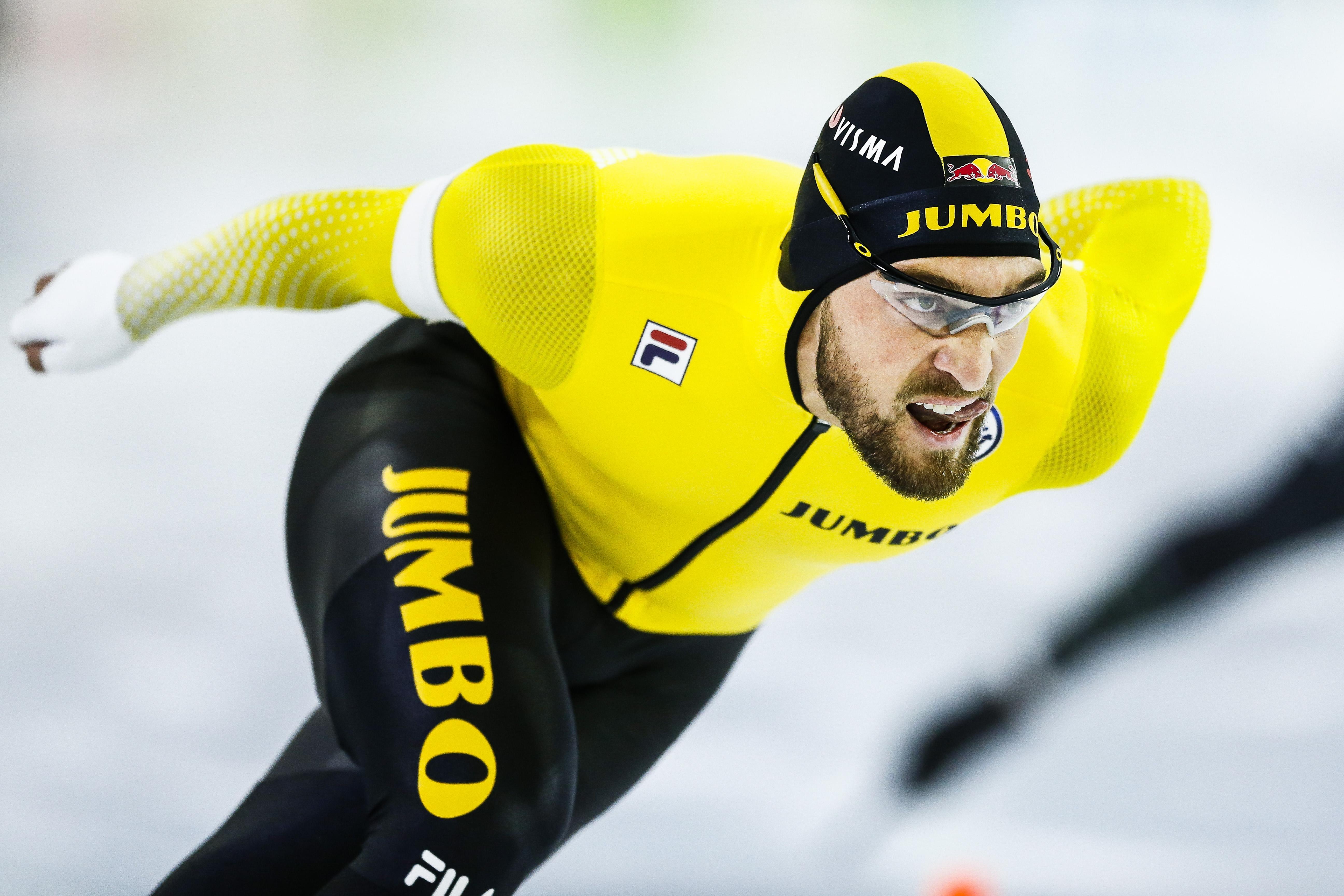 Kjeld Nuis: 'Mooi dat ik als snelste Nederlander naar de wereldbeker ga'