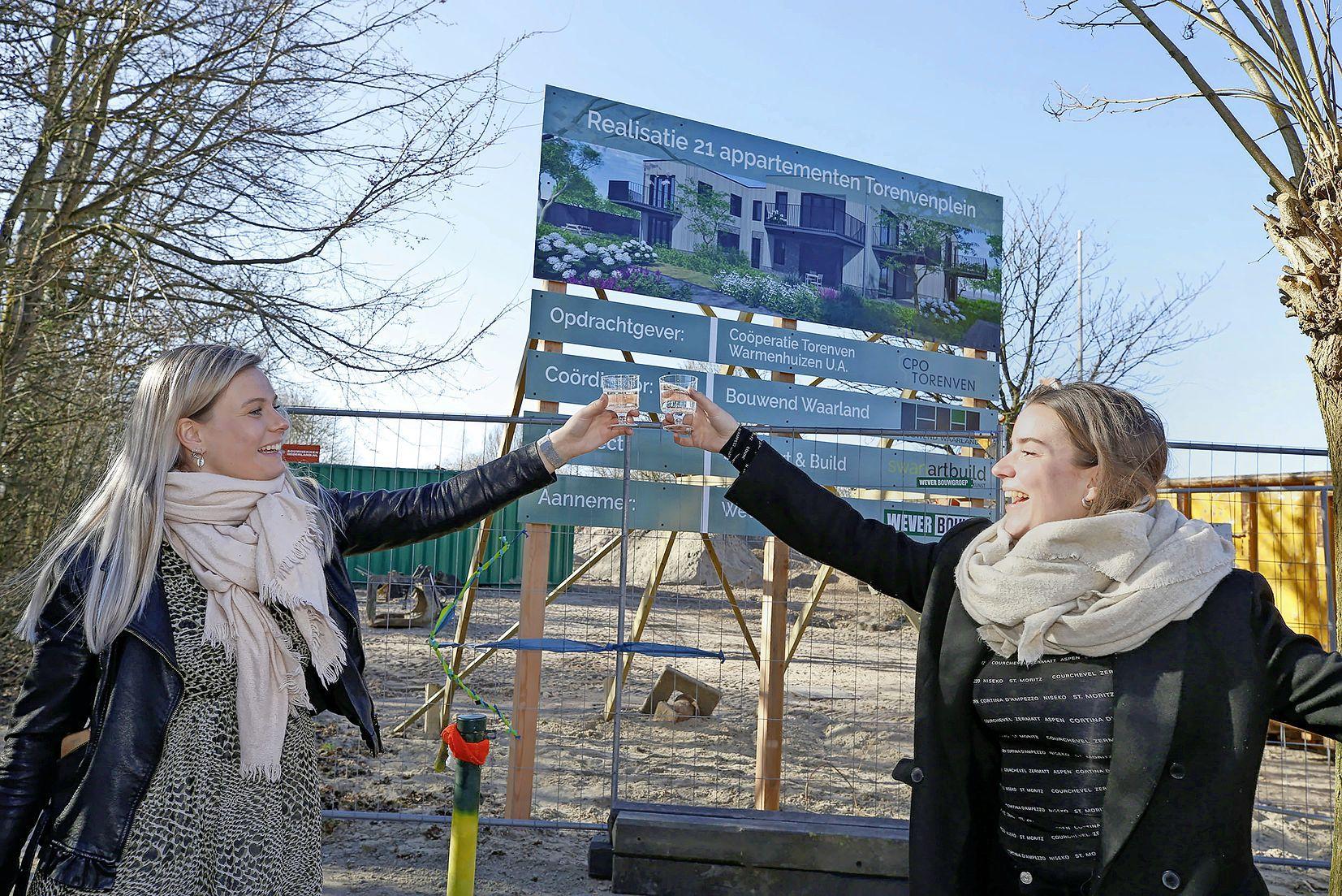 Een nieuw bouwproject in Warmenhuizen met een eigen feestcommissie. Dat klinkt leuk, maar hoe regel je een feestje in coronatijd? De eerste test is maandag: dan wordt de eerste paal geslagen