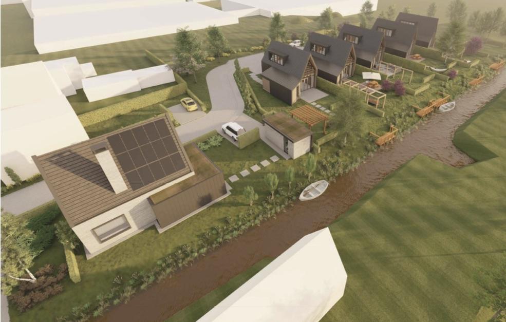 Paul Botman lanceert nieuwbouwplan 'Poort van Enkhuizen' op Westeinde: Zes grote in plaats van honderd kleine huizen [video]