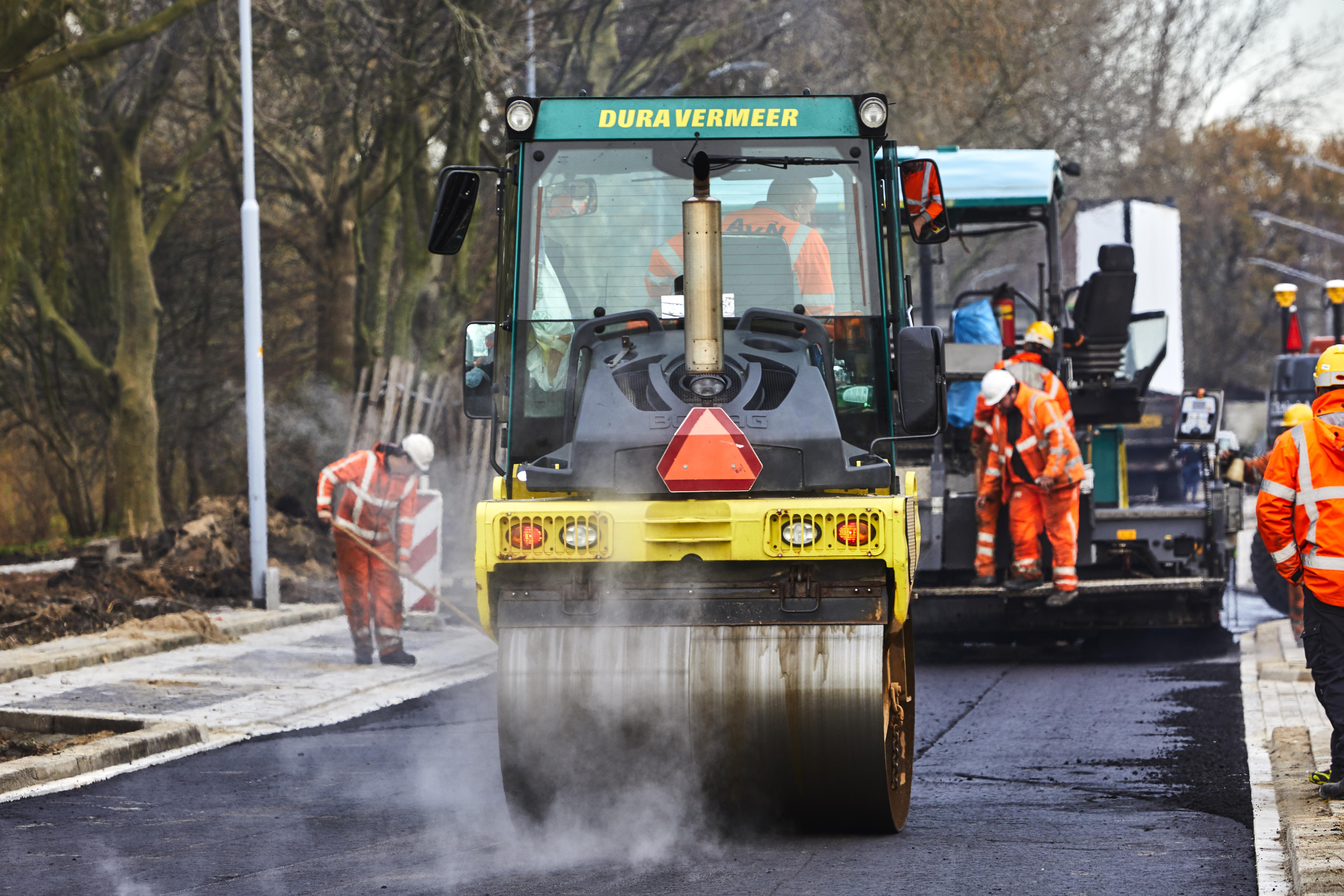 Primeur voor Zwanenburg: een weg met asfalt dat 100% uit herbruikbaar materiaal bestaat