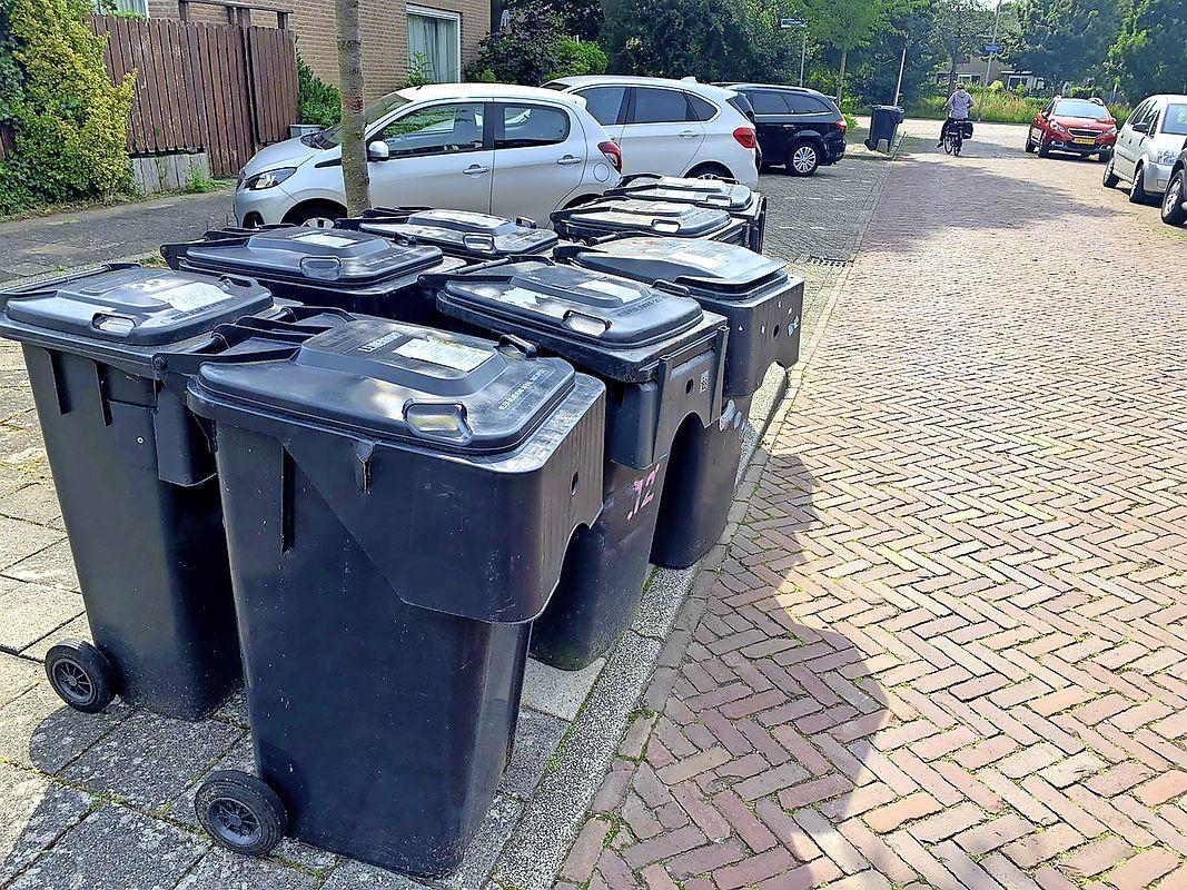 Pech op pech bij vervangen minicontainers in Leiderdorp