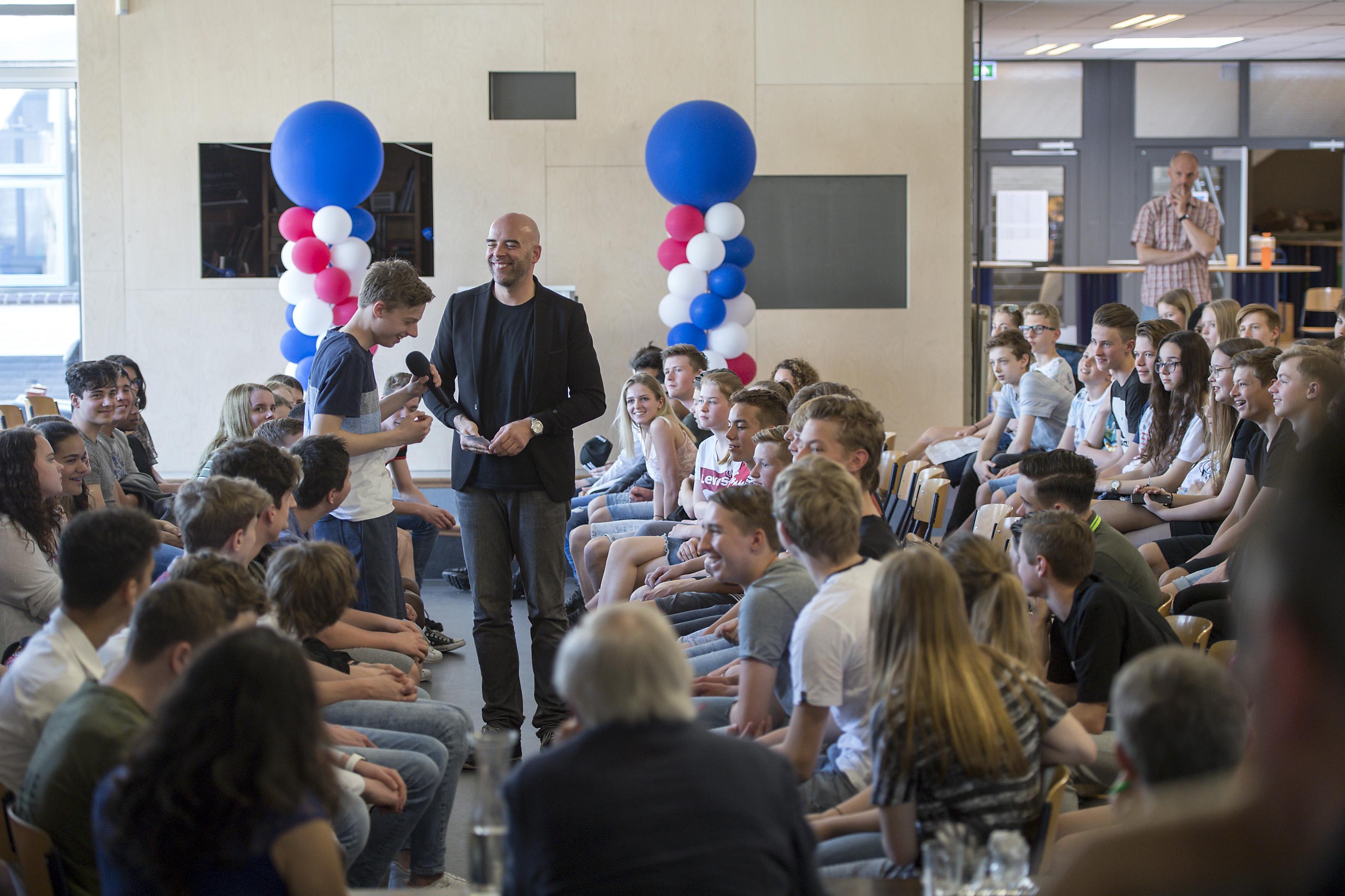 Debat over palmolie houdt leerlingen Bertrand Russell in Krommenie bij de les