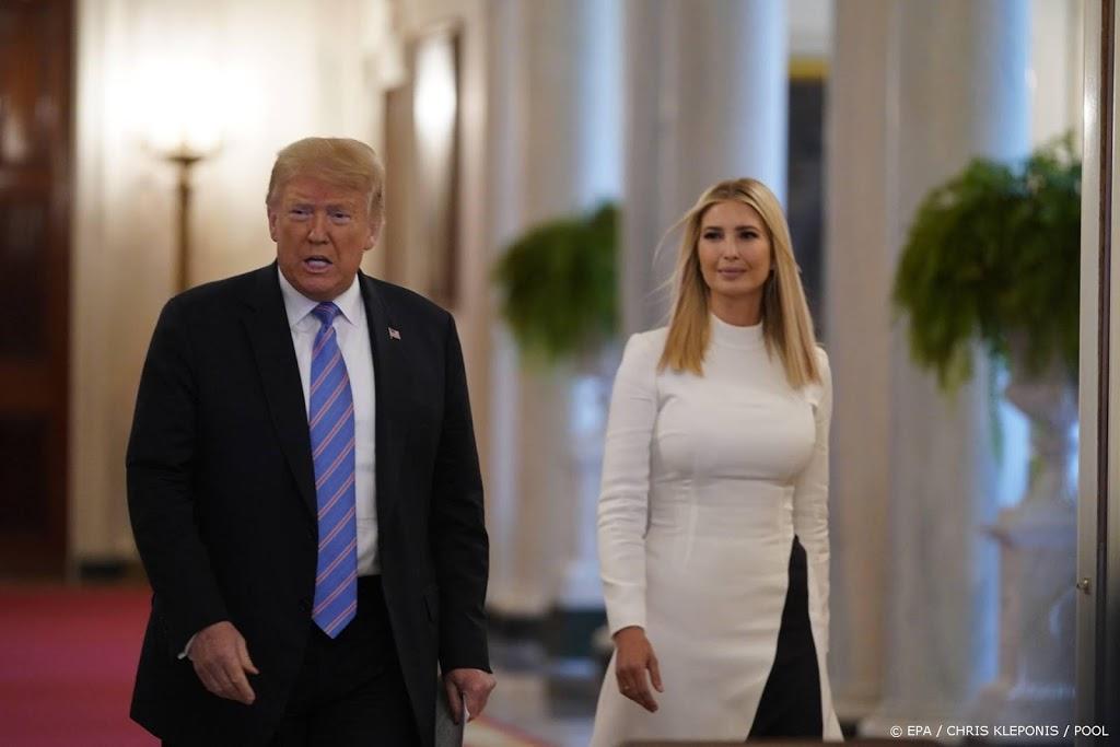 'Trump overwoog in 2016 dochter Ivanka als running mate'