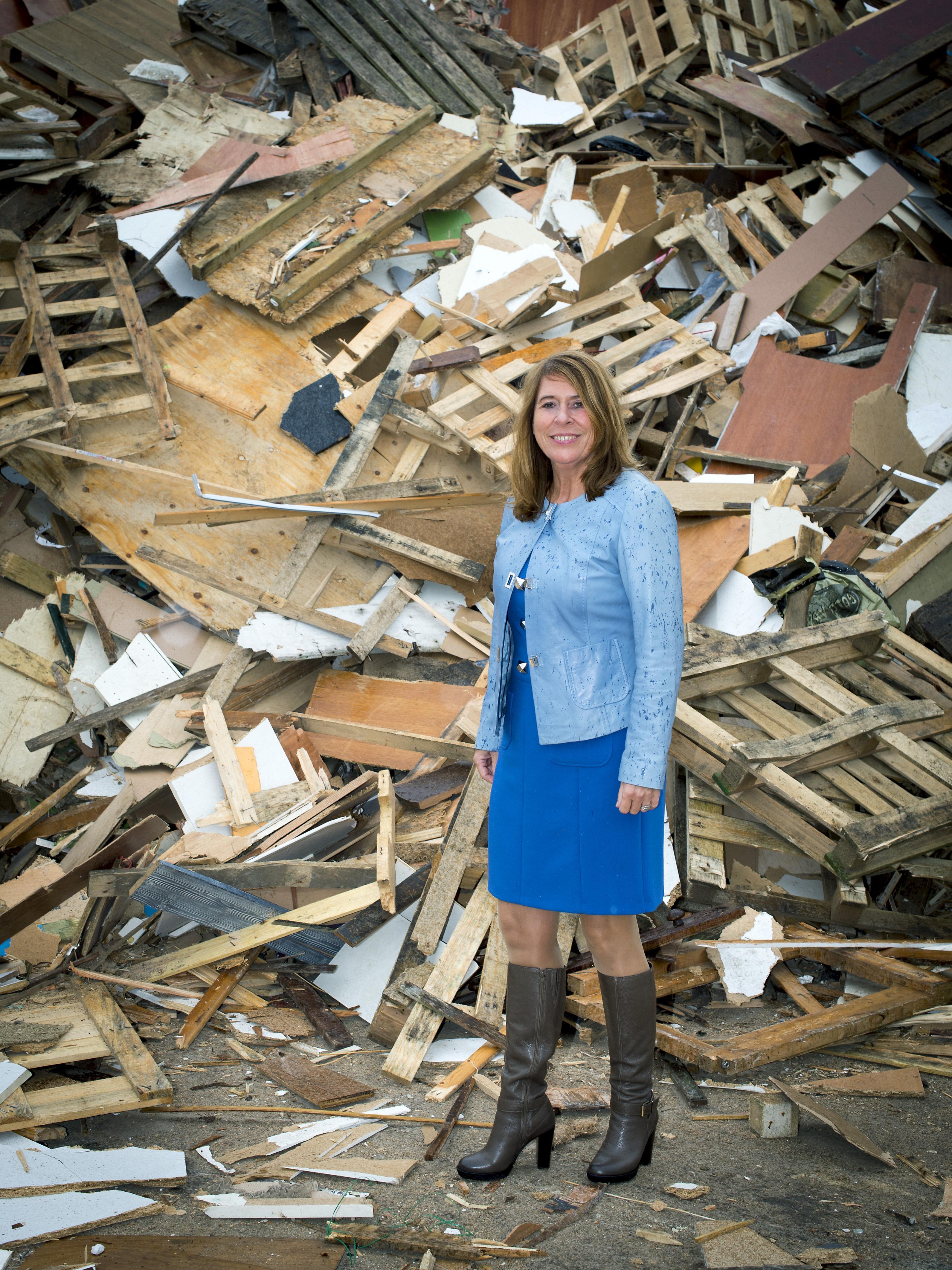 'We zijn door de tijd ingehaald.' Meerlanden-directeur Angeline Kierkels over de biomassacentrale die er niet komt