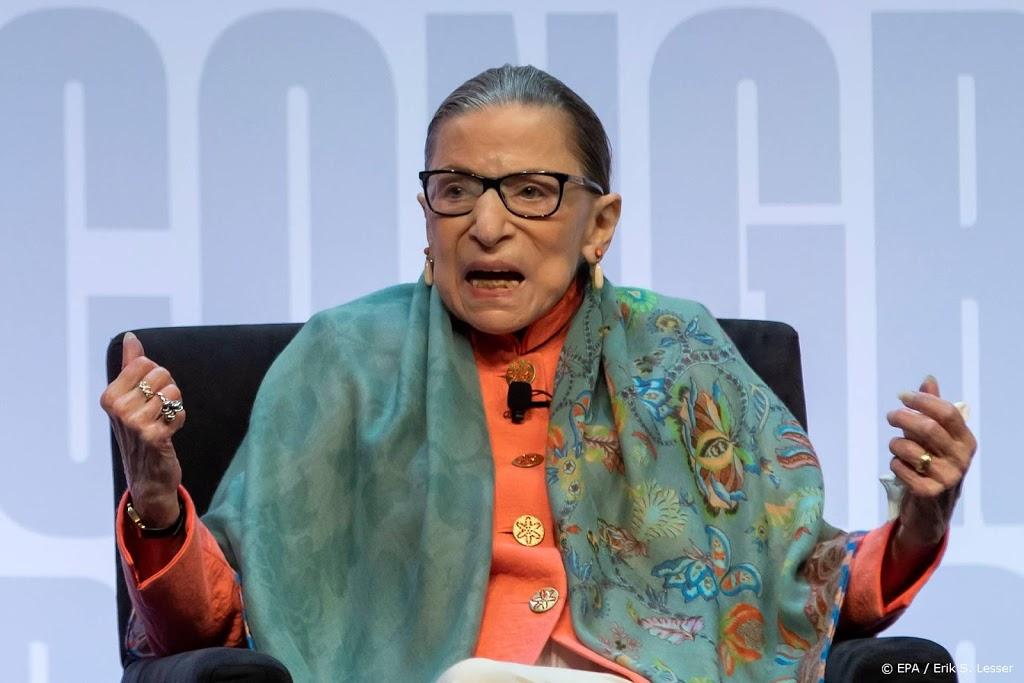 Amerikaanse opperrechter Ginsburg overleden