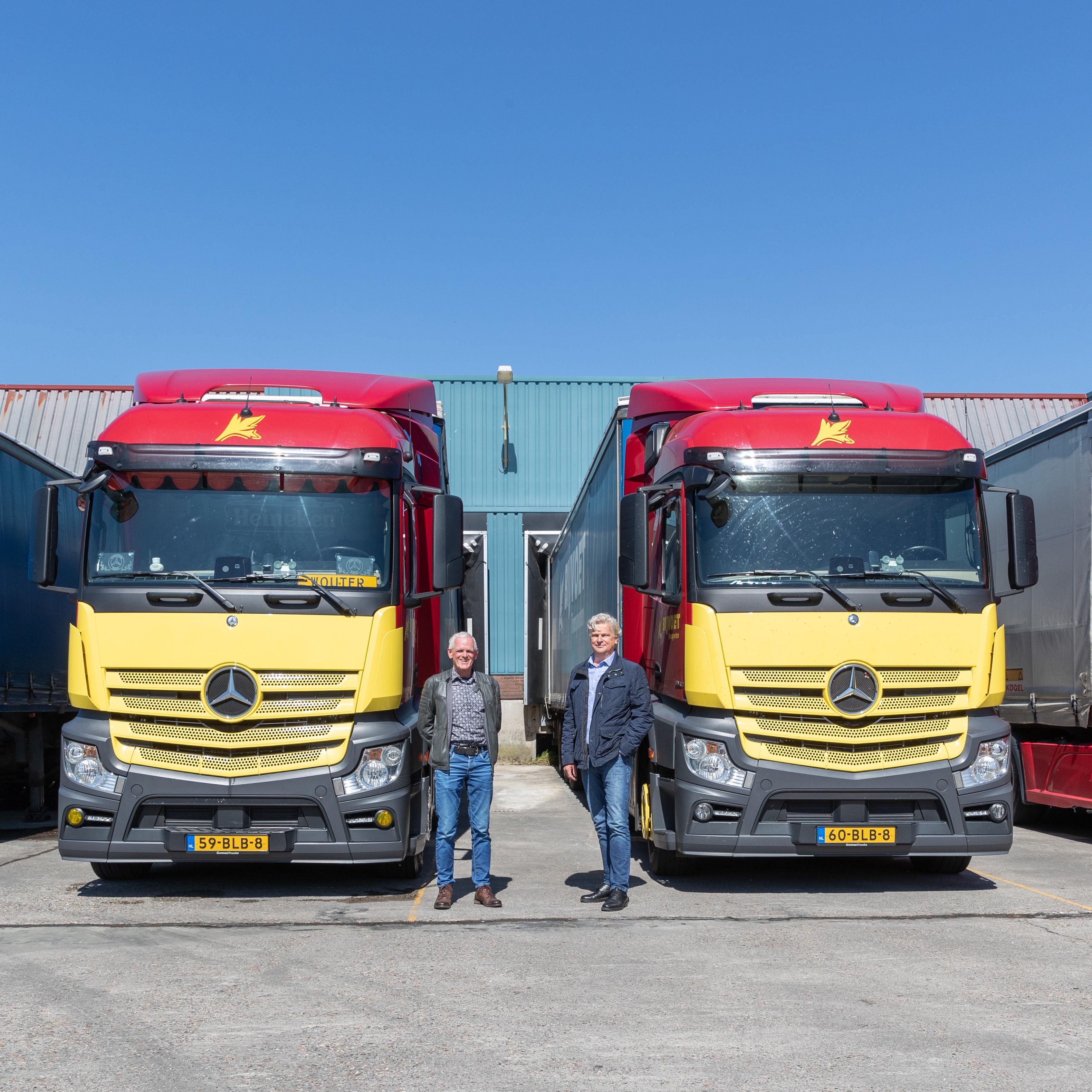 Transportbedrijf Bijvoet Obdam overgenomen door Van Straalen en De Vries uit Zwaagdijk-Oost