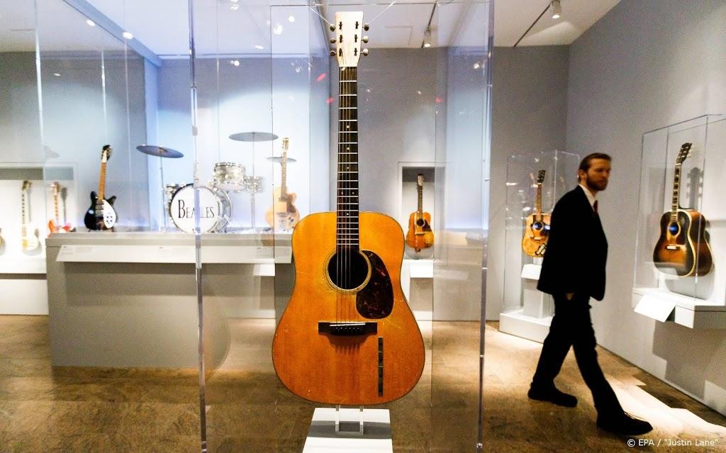 Gitaar van Elvis Presley levert meer dan miljoen op