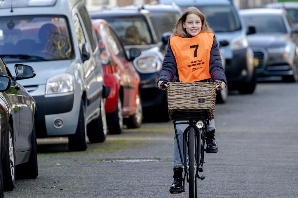 Toch fietsexamens voor leerlingen basisscholen. 'Met veel meer leerlingen dan normaal'