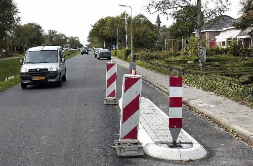 Aanleg plateaus op wegen in Wijdenes uitgesteld