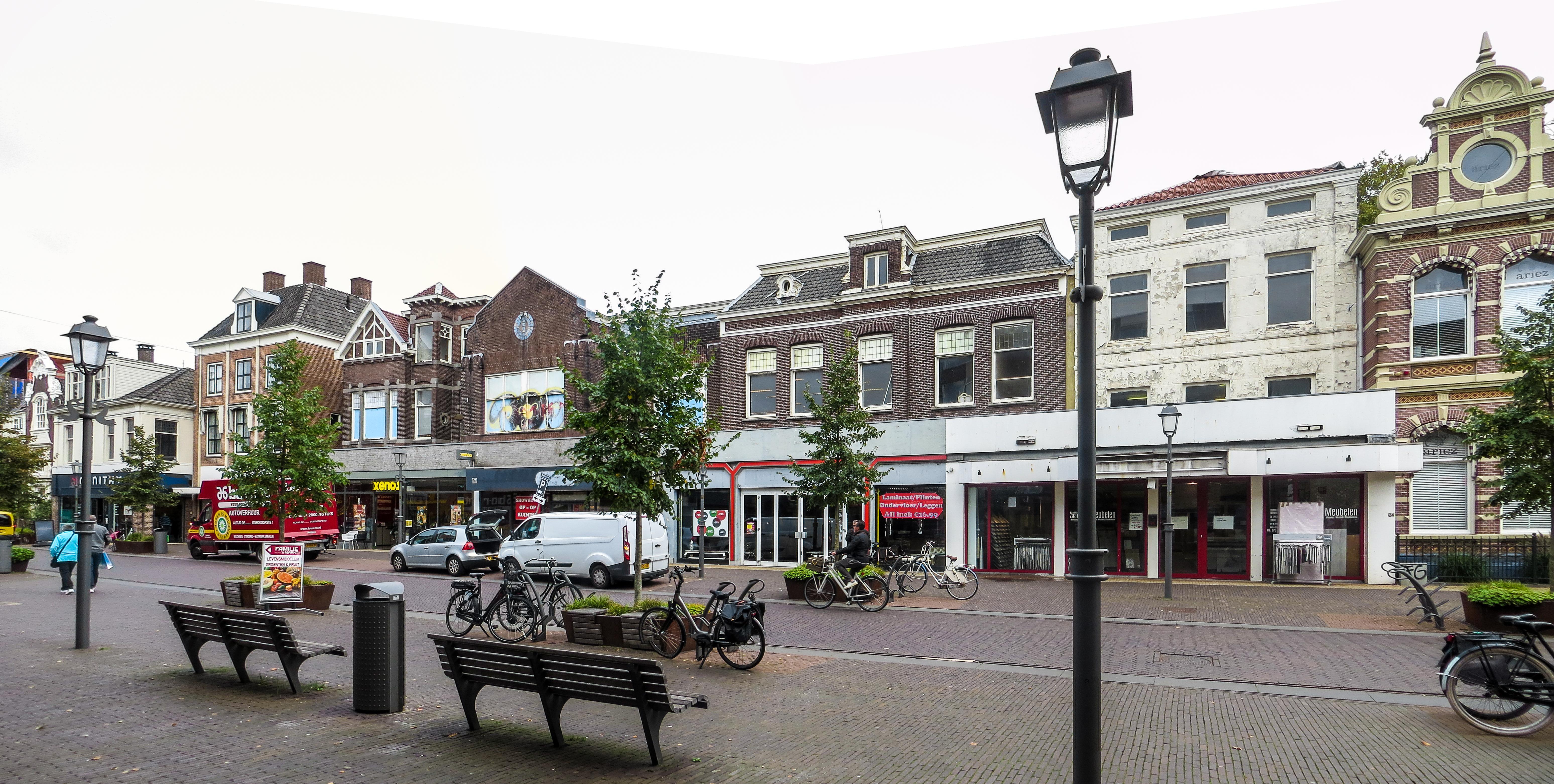 Nieuwbouw op 'niet florissant stukje' Westzijde Zaandam: appartementen en hotel vervangen snookercentrum en winkels