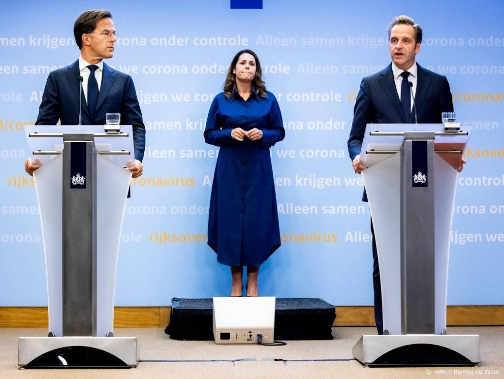 Rutte wil niet inzetten op strenger handhaven op coronaregels