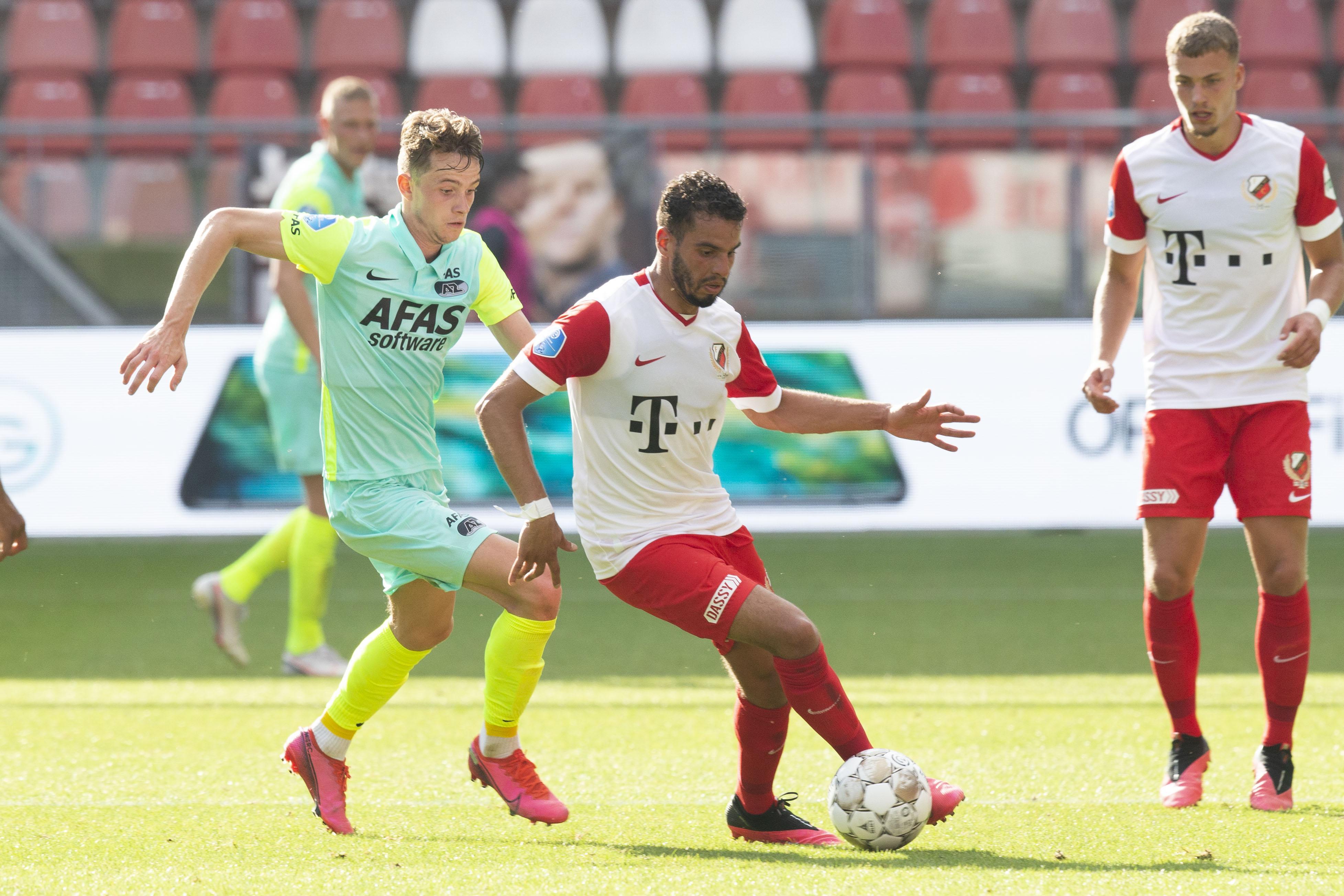 AZ-trainer Arne Slot: 'Ik kan maar één of twee spelers noemen die níet over zich heen lieten lopen'