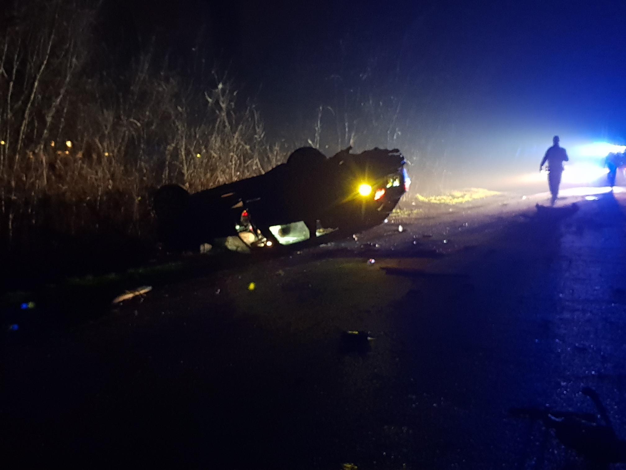 Drie gewonden bij zware crash in Zuidschermer [video]