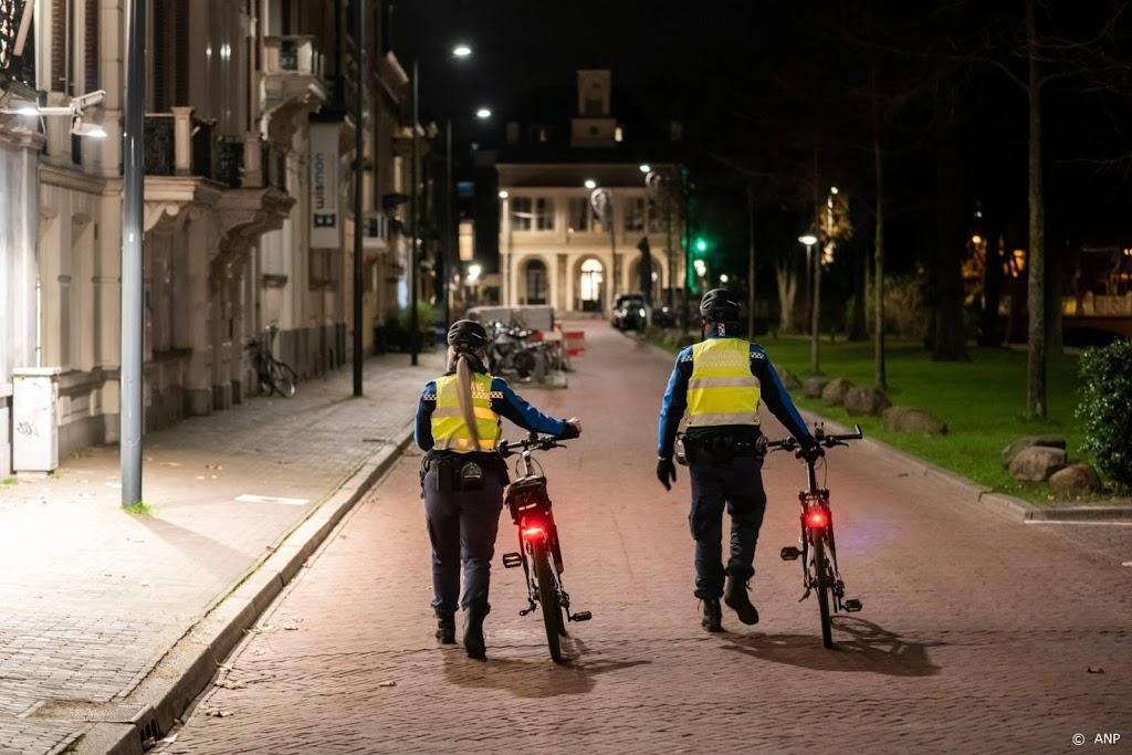 Politie alert op mogelijke protestacties tegen avondklok