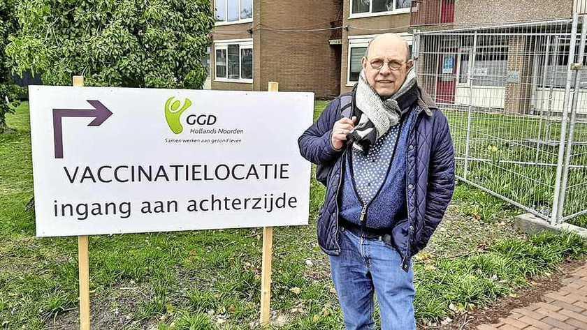 Medewerkers van de vaccinatielocatie in Den Helder gaan 'weer over tot de orde van de dag, maar het komt wel even binnen bij iedereen'