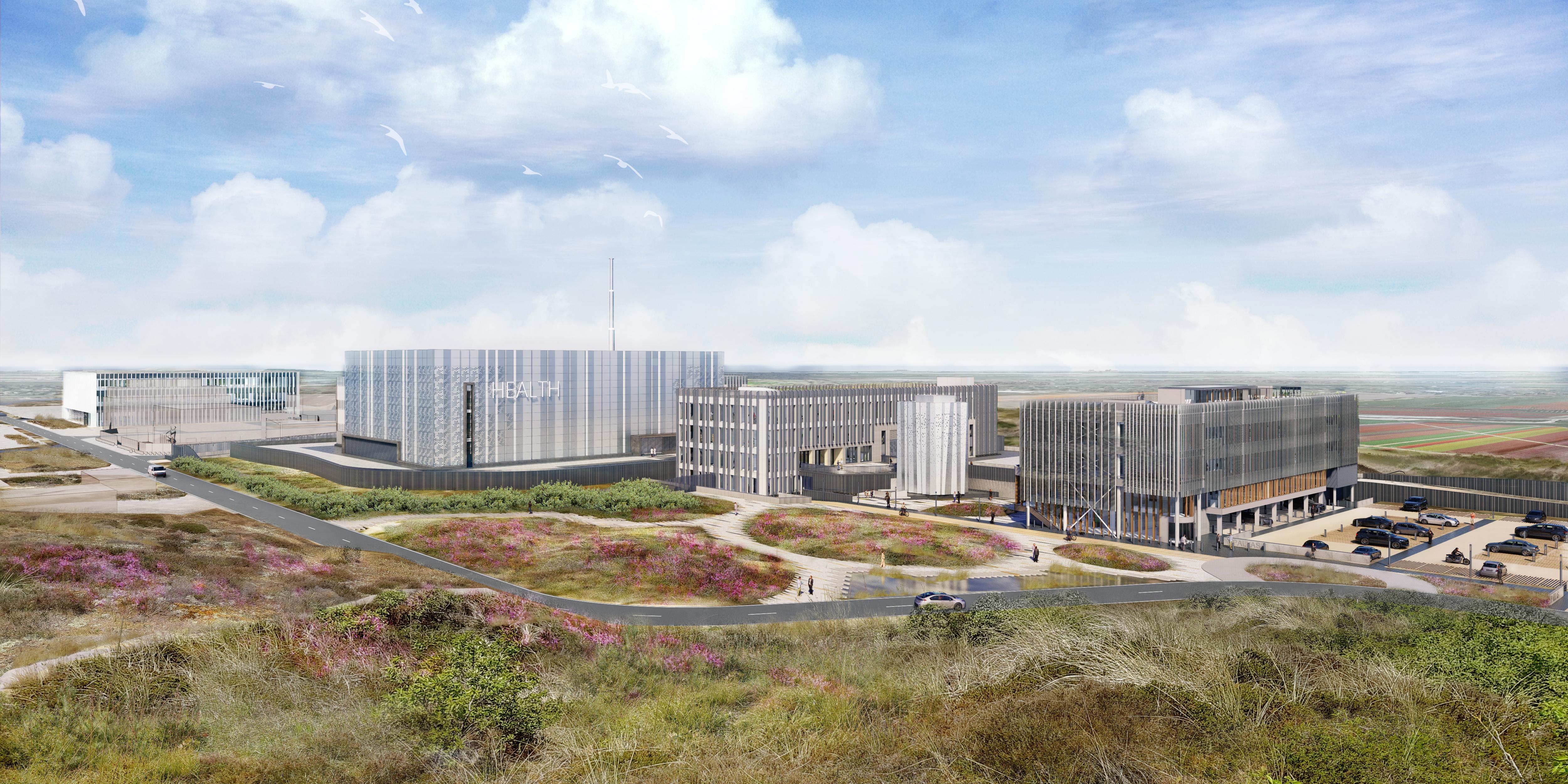 De nieuwe kernreactor in Noord-Holland ziet er straks niet uit als een reactor
