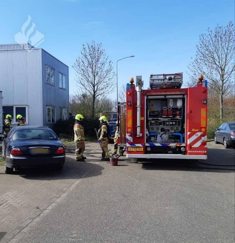 Brandje in bedrijfspand Schagerbrug snel geblust