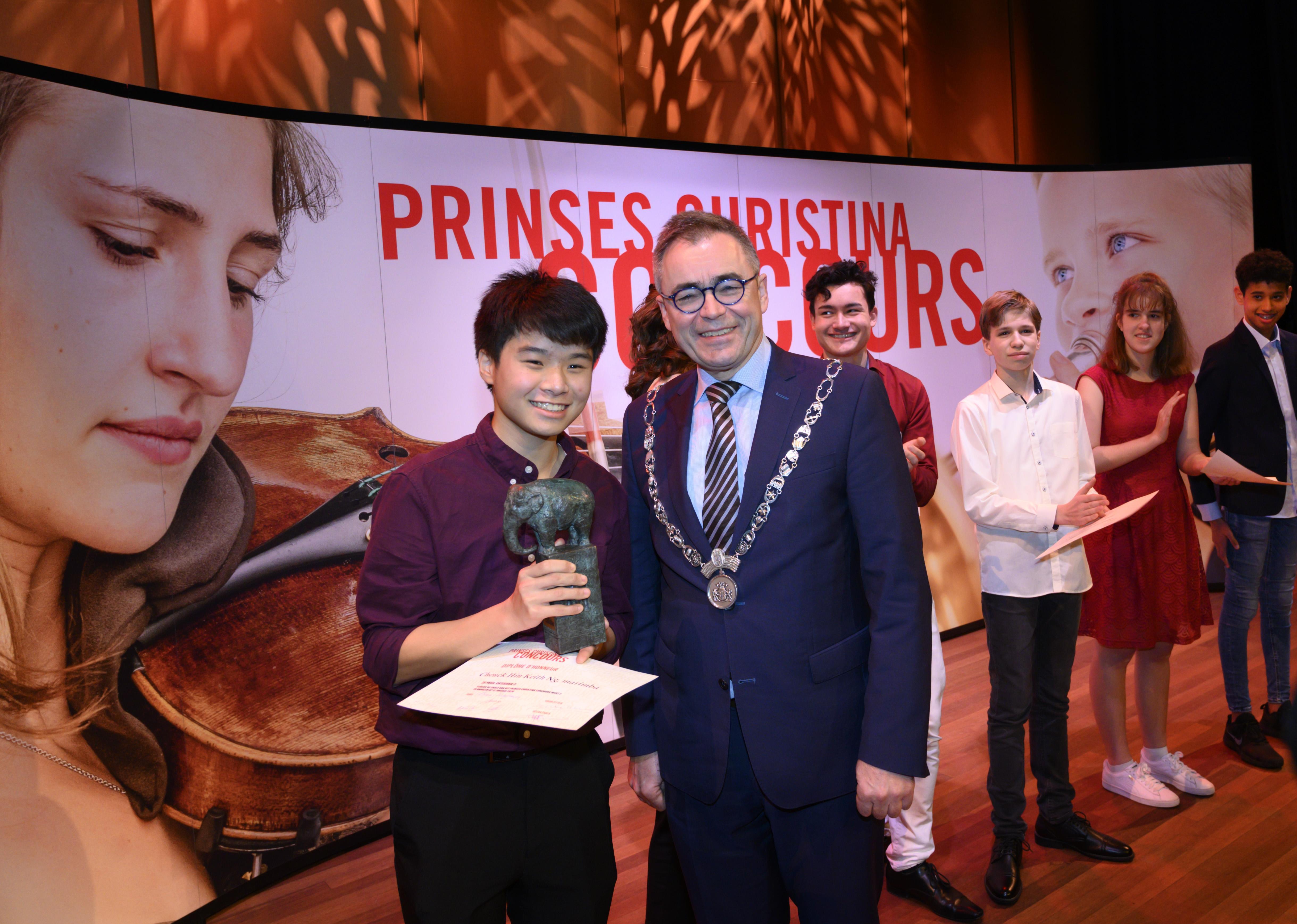 Jong talent met klassieke allure op Prinses Christina Concours in Philharmonie Haarlem