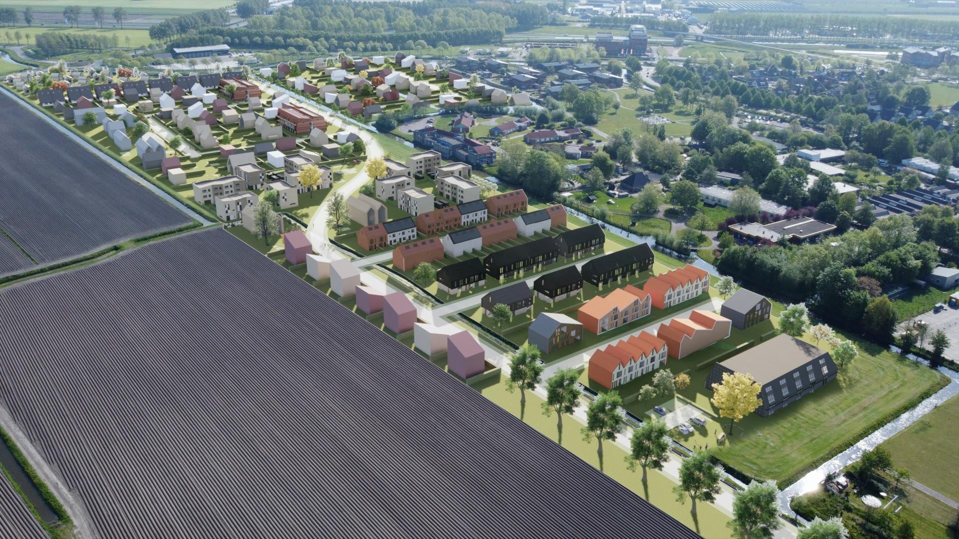 Nieuwe wijk in Wognum krijgt uniek karakter: 'Het is eigenlijk een soort blokkendoos'