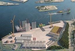 Baggeraar Van Oord gaat de Averijhaven in Velsen-Noord leegmaken voor de aanleg van de Energiehaven. 850.000 kubieke meter bagger gaat per schip naar Rotterdam