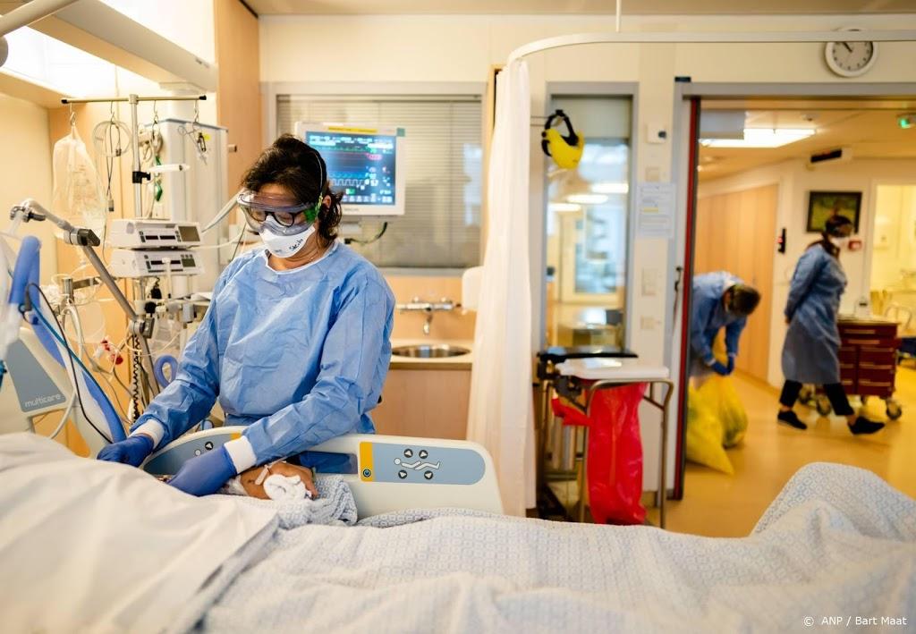 Aantal coronapatiënten in ziekenhuizen iets gedaald