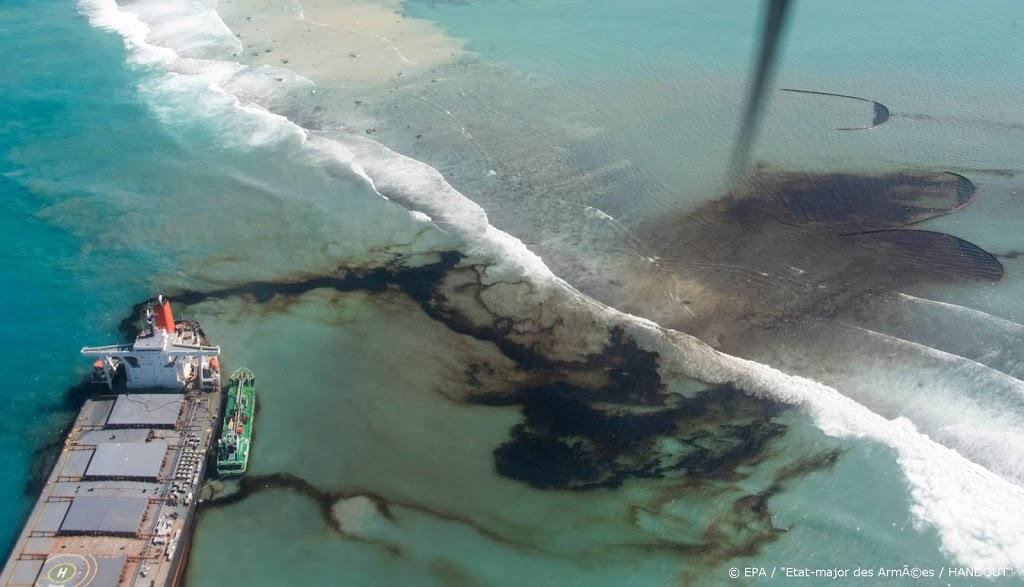 Meeste olie uit gestrand schip bij Mauritius weggehaald