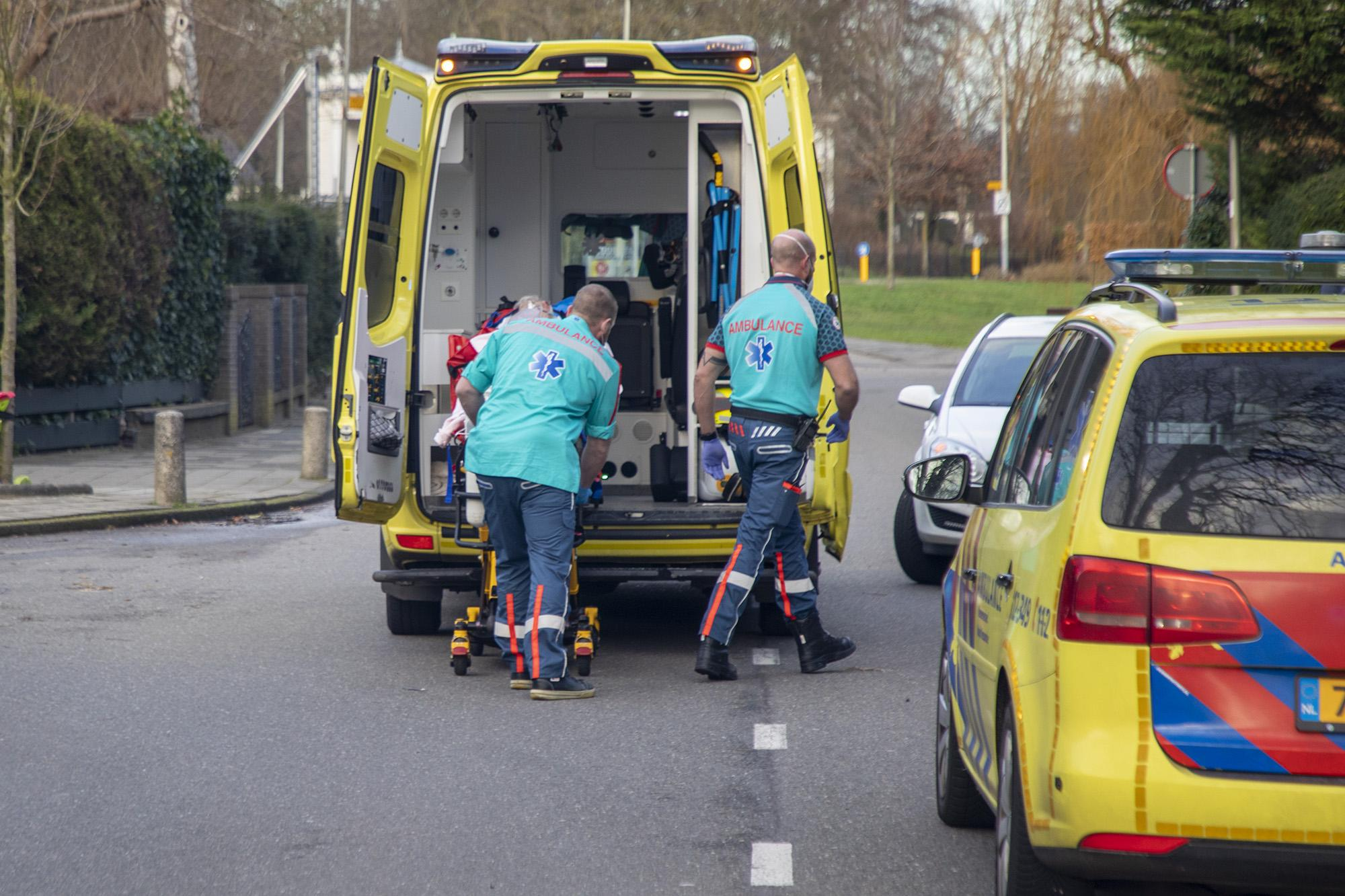 Oudere man gewond bij aanrijding in Bloemendaal