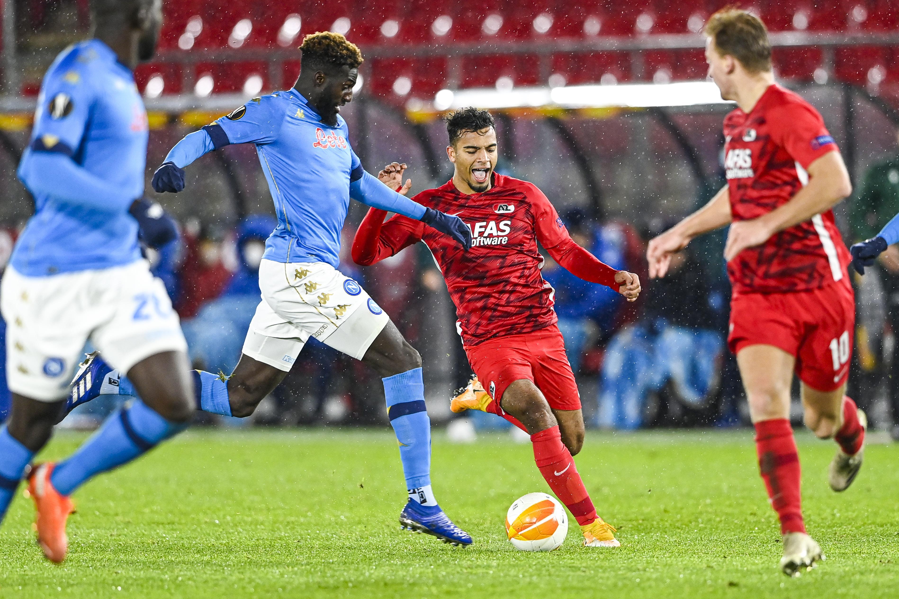 AZ levert wederom prestatie van formaat tegen Napoli en maakt nog volop kans op Europese overwintering