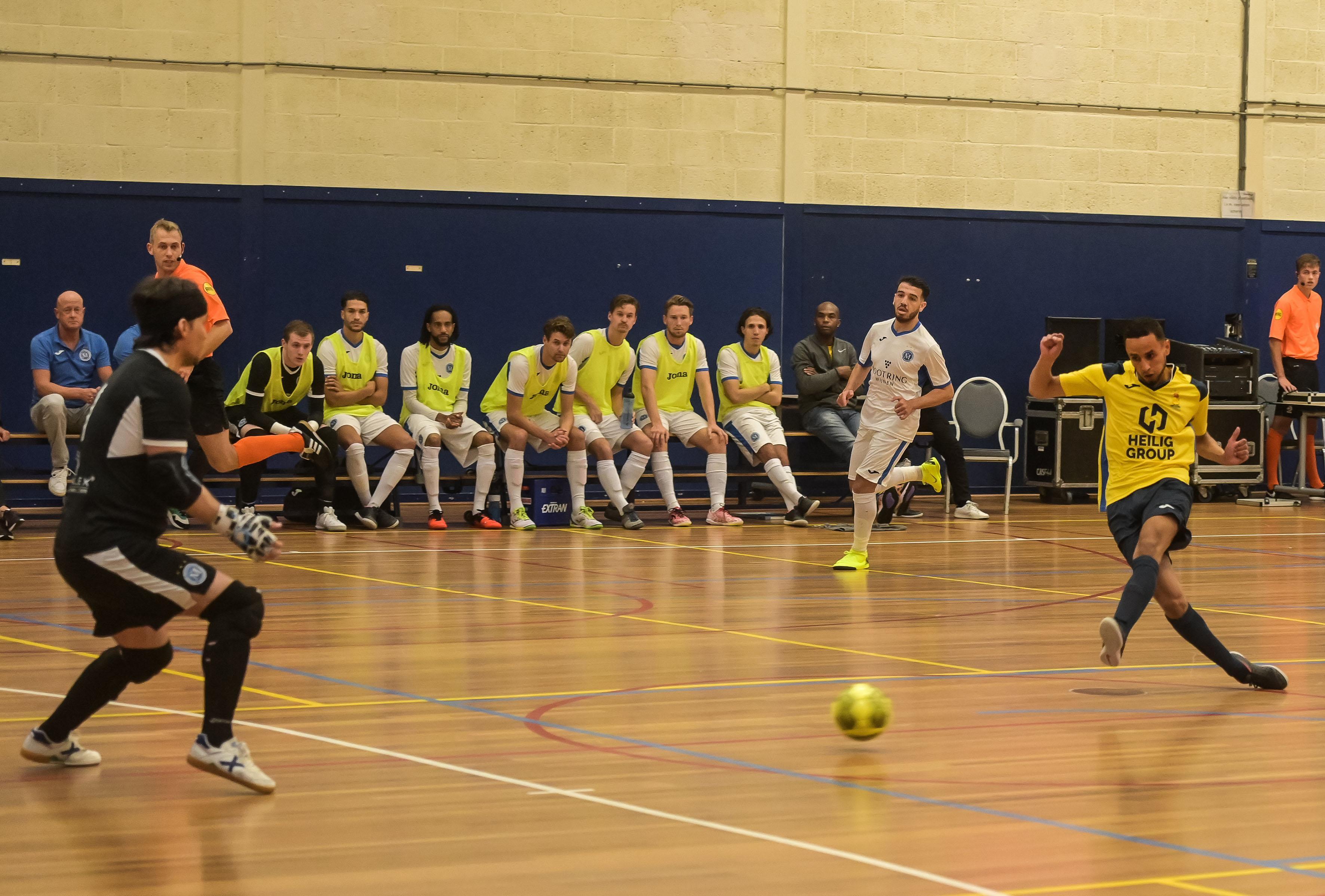 Terugblik: Geen ploeg in de eredivisie zaalvoetbal is zo trefzeker als Veerhuys