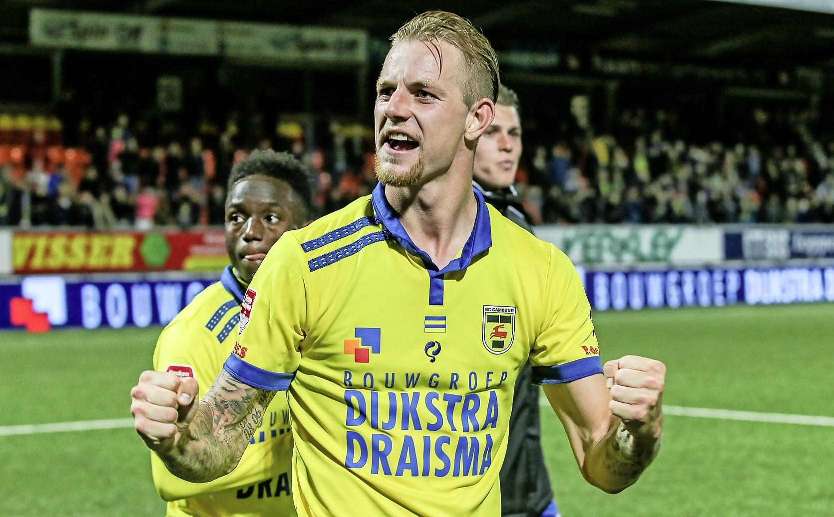 Voetballer Van Kippersluis uit Hilversum is coronavrij en start bij Eagles