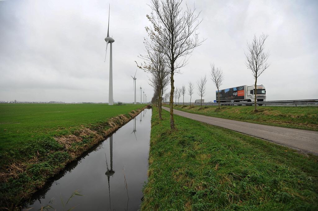 Windmolens langs A7 in Edam-Volendam, Beemster en Wormerland voorlopig van de baan