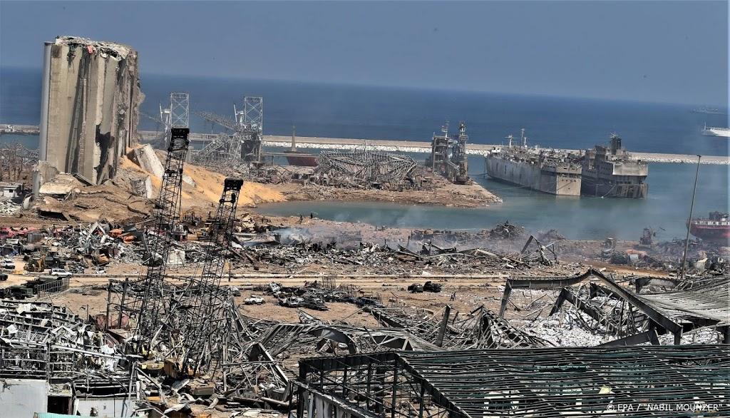 'Havenautoriteiten Beiroet na explosie onder huisarrest'