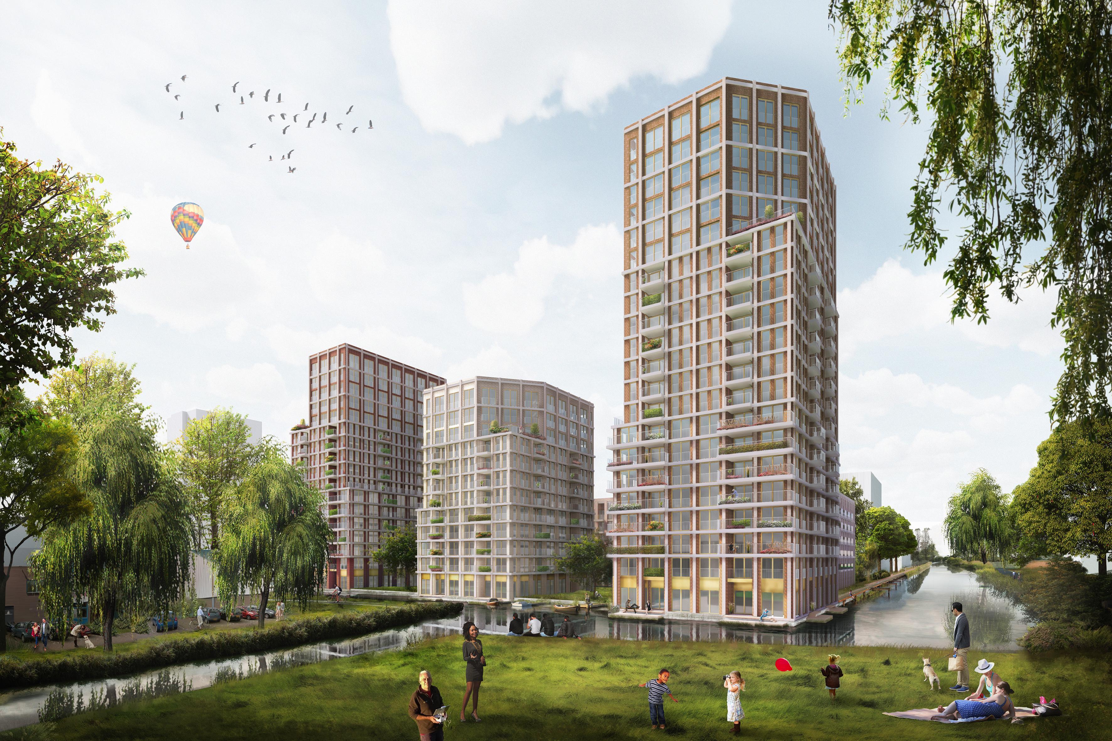 Volgende stap in bouw Schalkstad, 490 woningen aan achterkant winkelcentrum