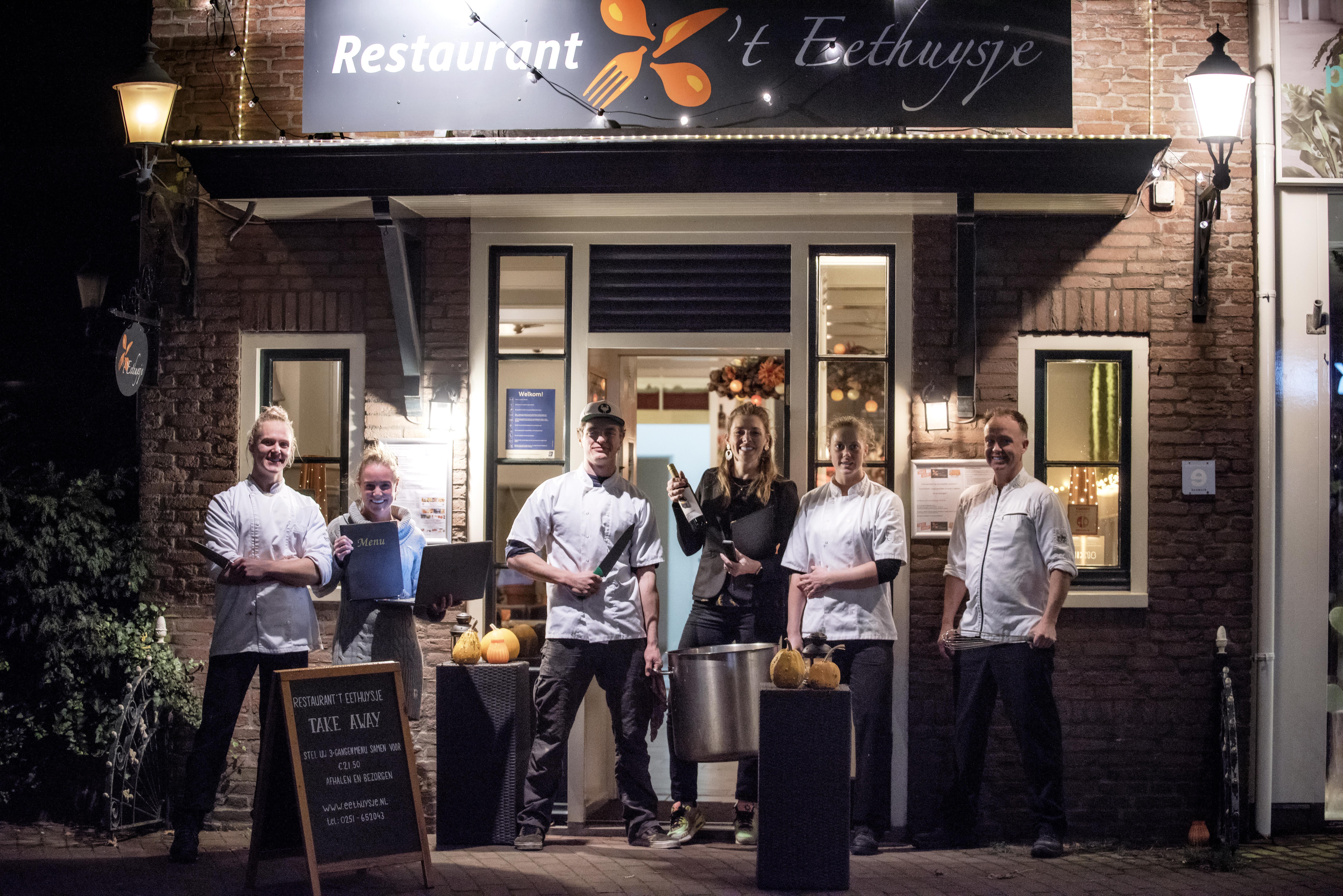 Restaurants in IJmond uitverkocht voor kerst: 'Precies berekend hoeveel menu's er in de koelcellen passen'