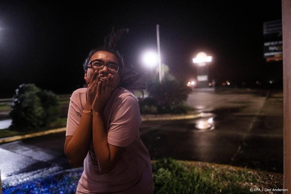 Orkaan Delta gaat aan land in Louisiana