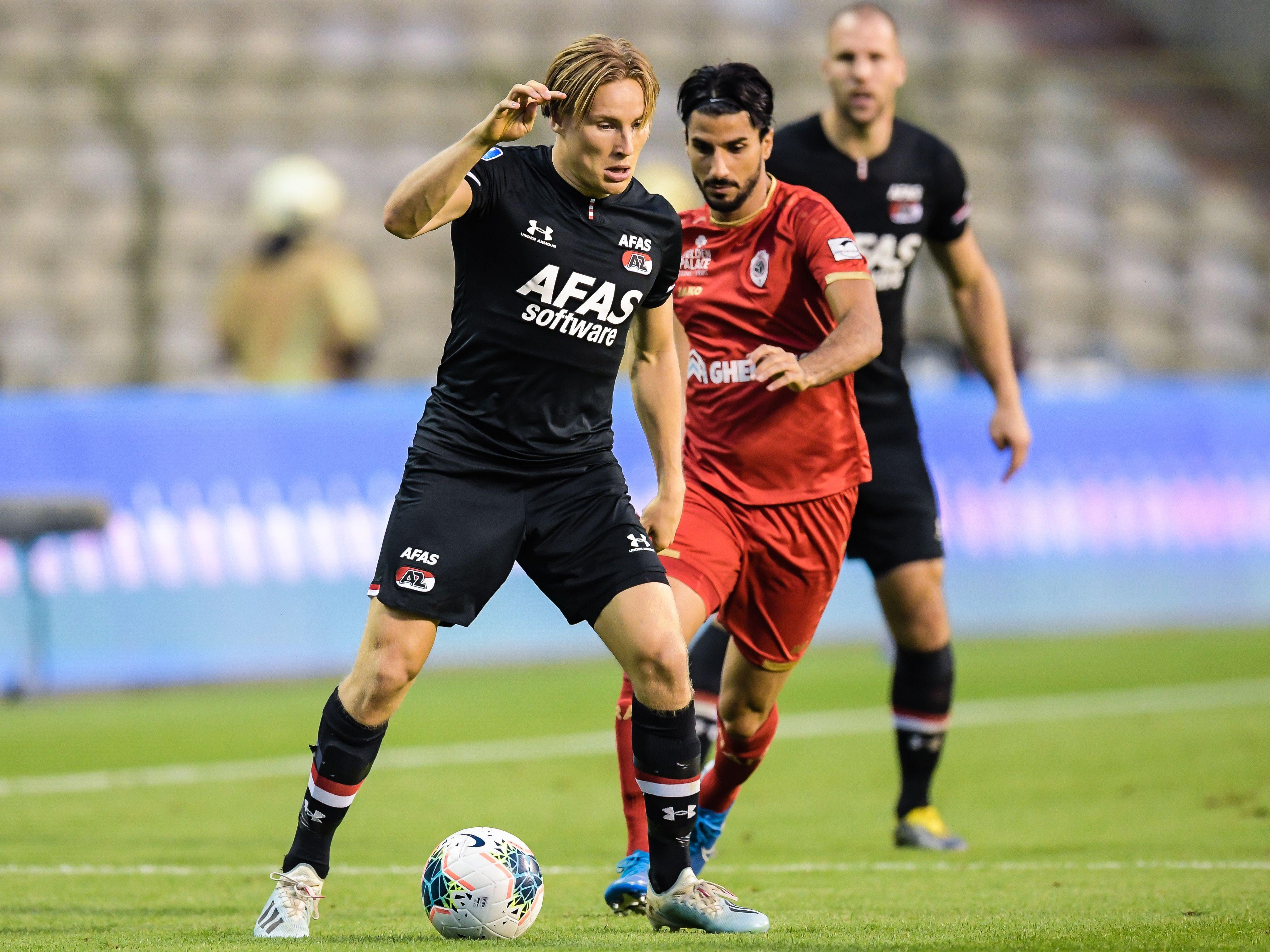 AZ verslaat Royal Antwerp FC en gaat naar de Europa League [video]