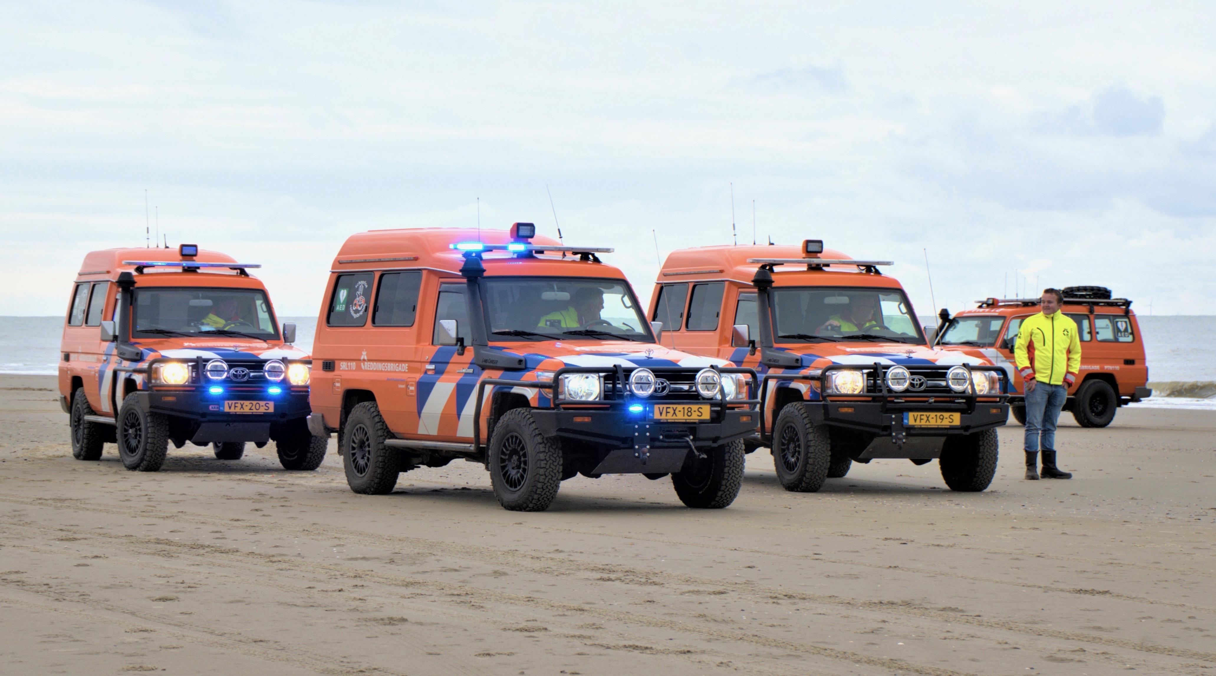 Nieuwe 'werkpaarden' voor Reddingsbrigades Petten en Callantsoog [video]