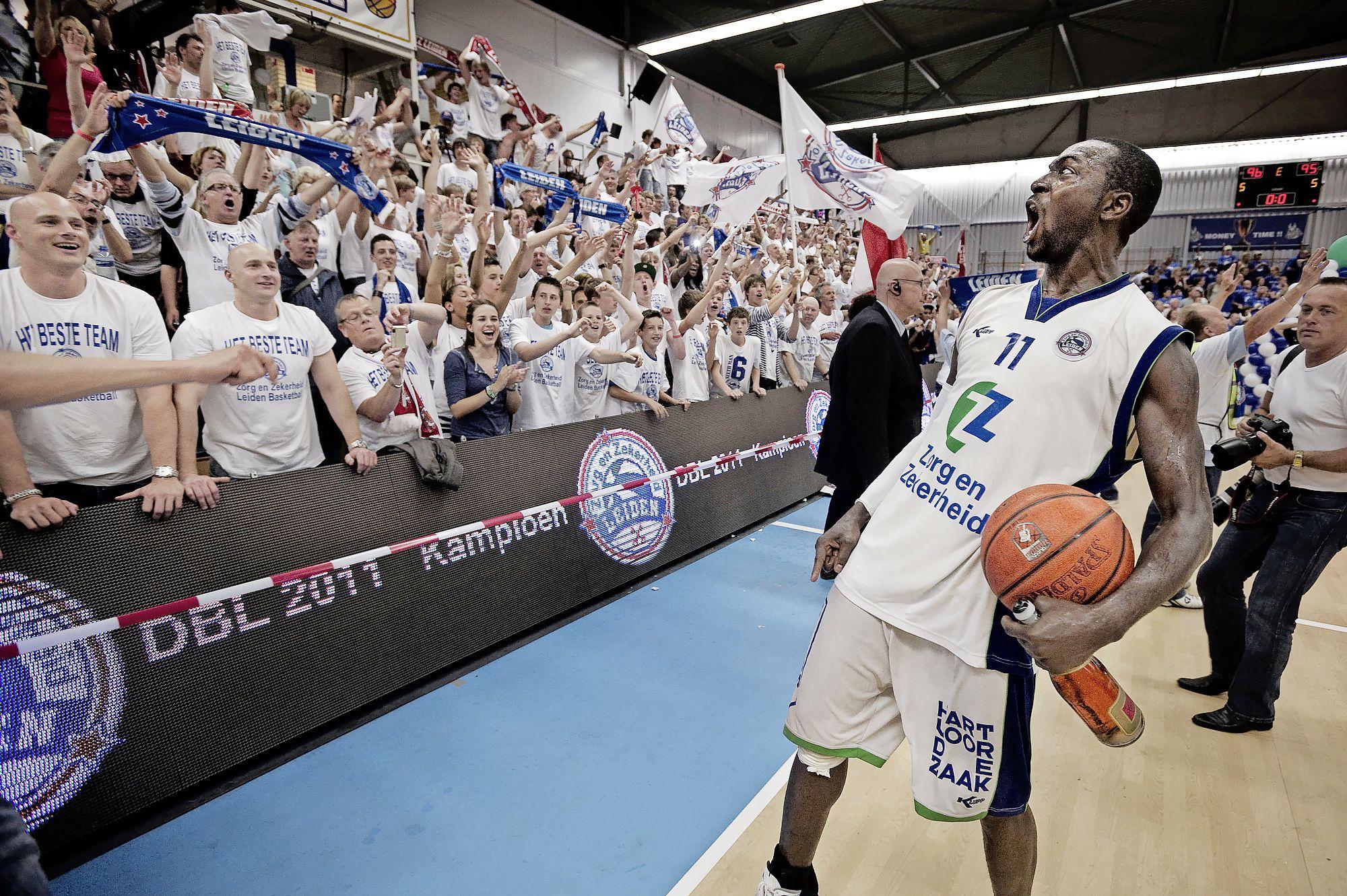Monta McGhee was de luide leider van ZZ Leiden dat in 2011 landskampioen werd: 'Ooit kom ik terug en kijk ik samen met de fans'
